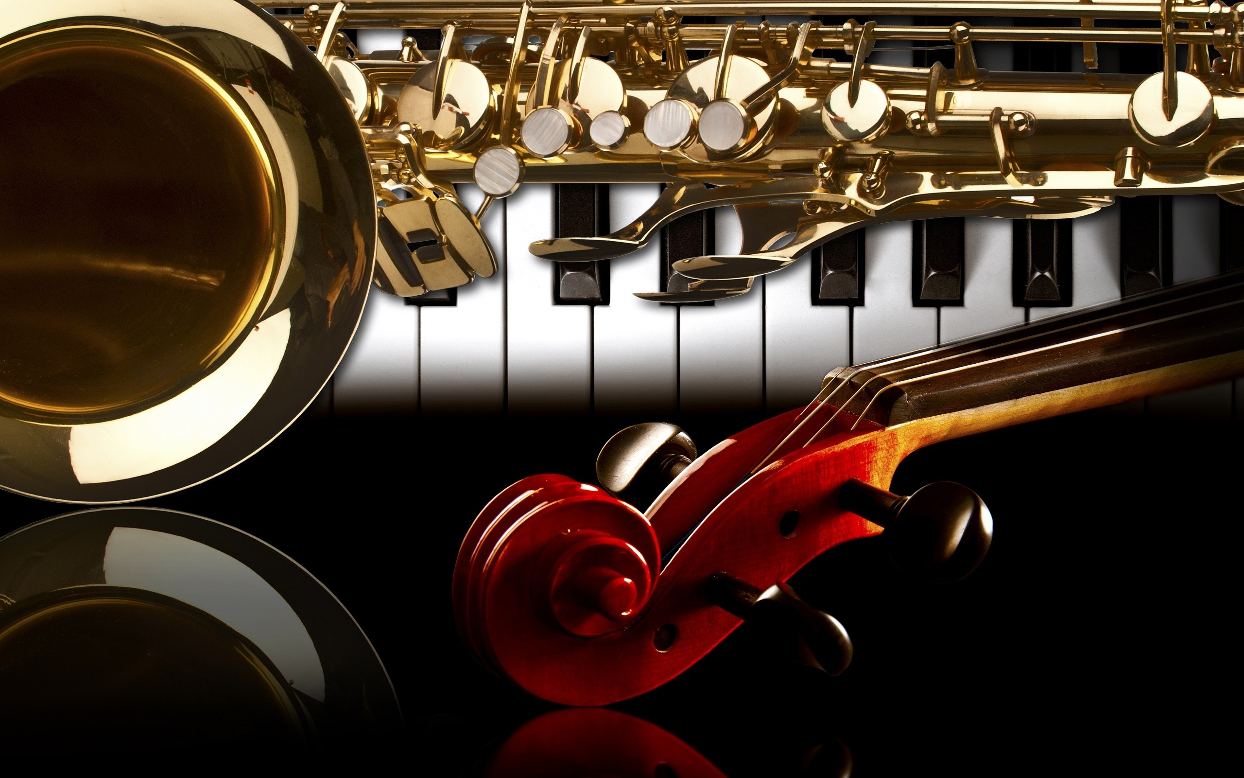 2560x1600 Musical Instrument Wallpaper