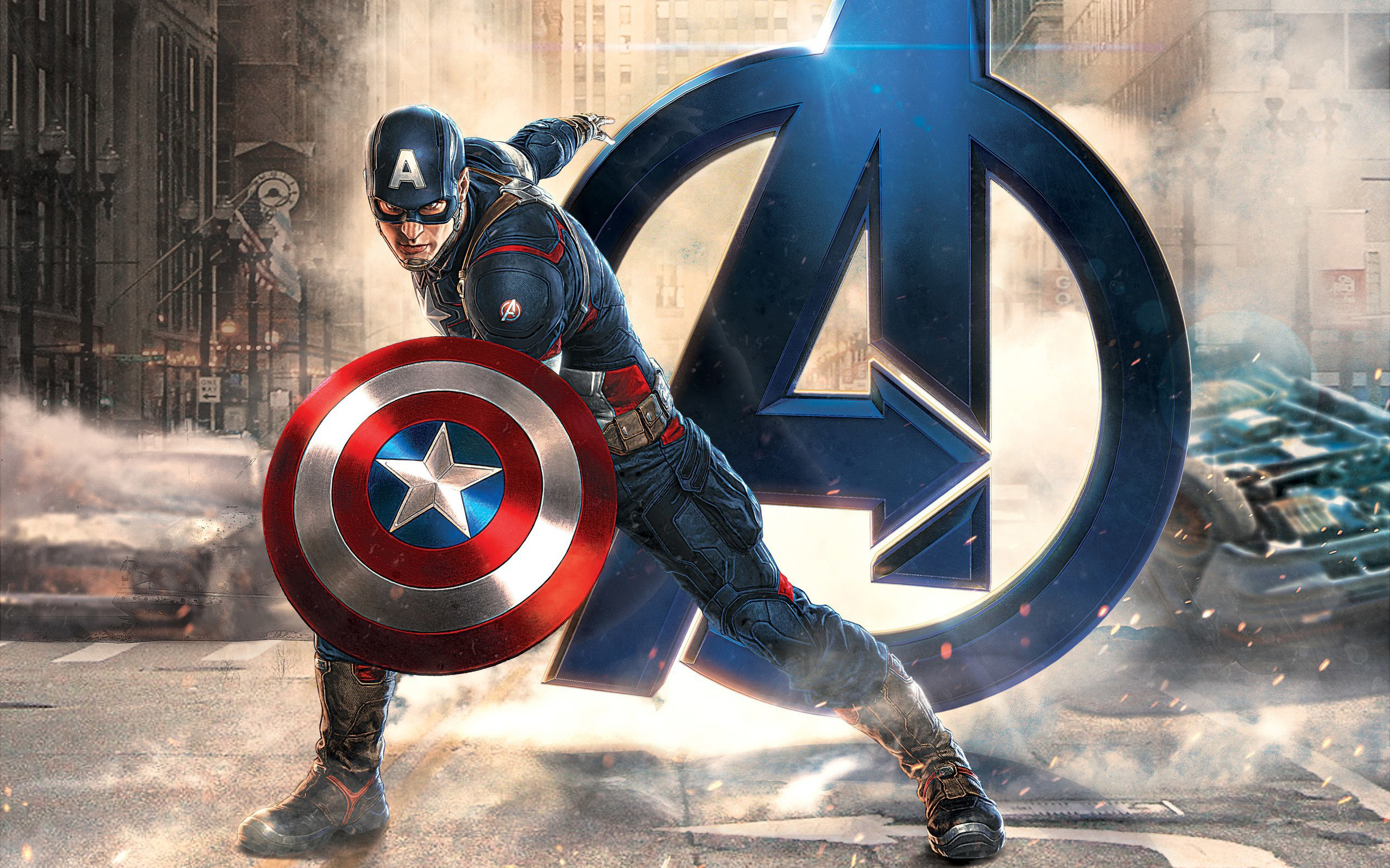 2560x1600 Captain America Desktop Wallpapers