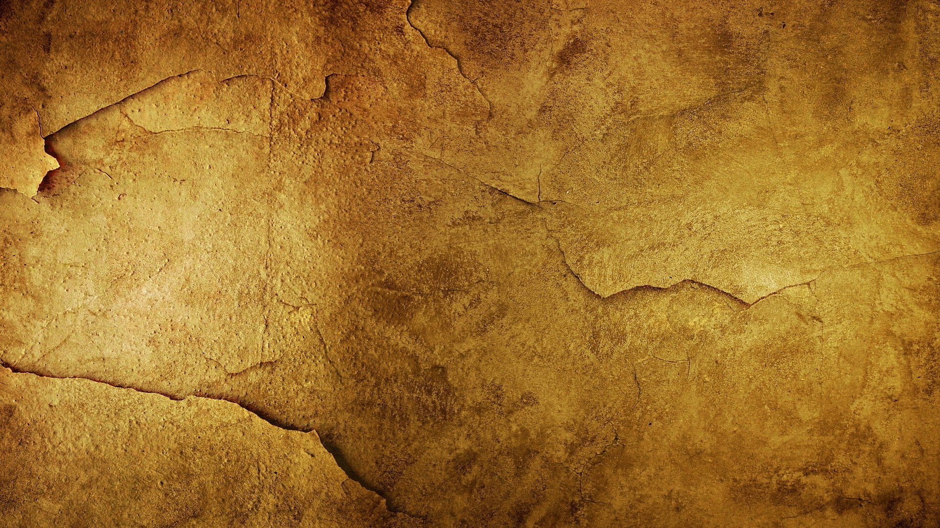 1920x1080  Wallpaper roughness, light, background, surface, cracks