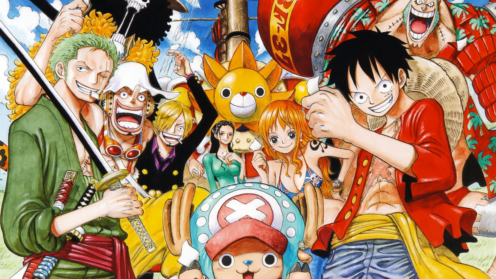 1920x1080 One Piece Mugiwaras HD Wallpaper | Background Image |  | ID:883613  - Wallpaper Abyss