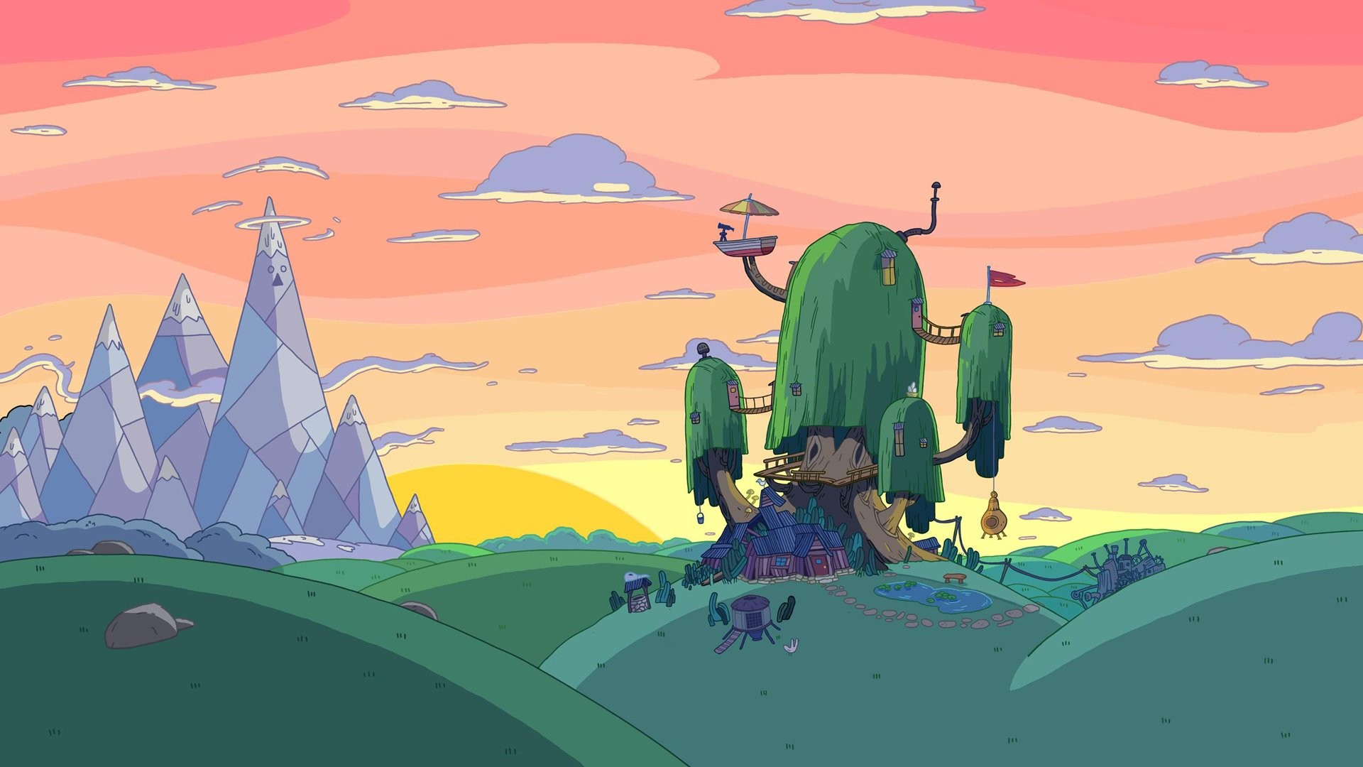Adventure time backgrounds 69 images 1920x1080 adventure time finn flame princess hd wallpaper background id442432 voltagebd Choice Image
