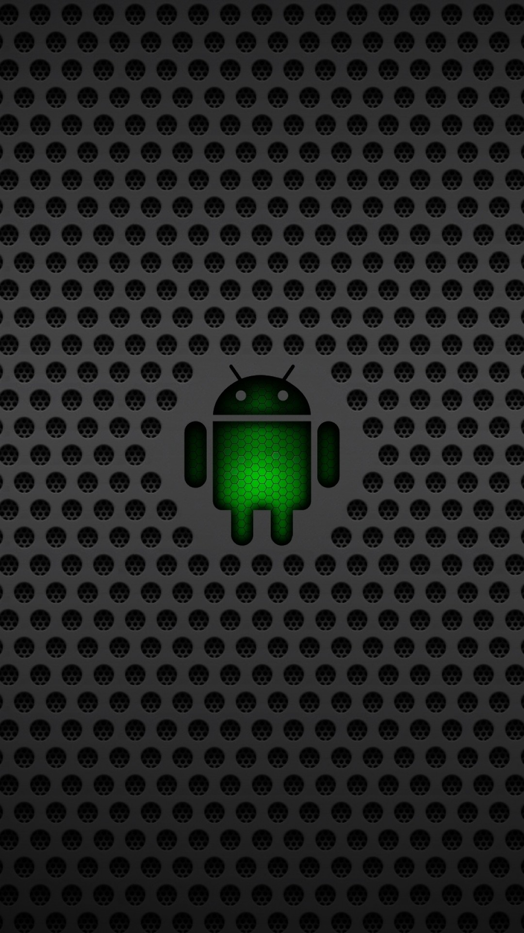 1080x1920  Wallpaper android, operating system, os, green, black, mesh