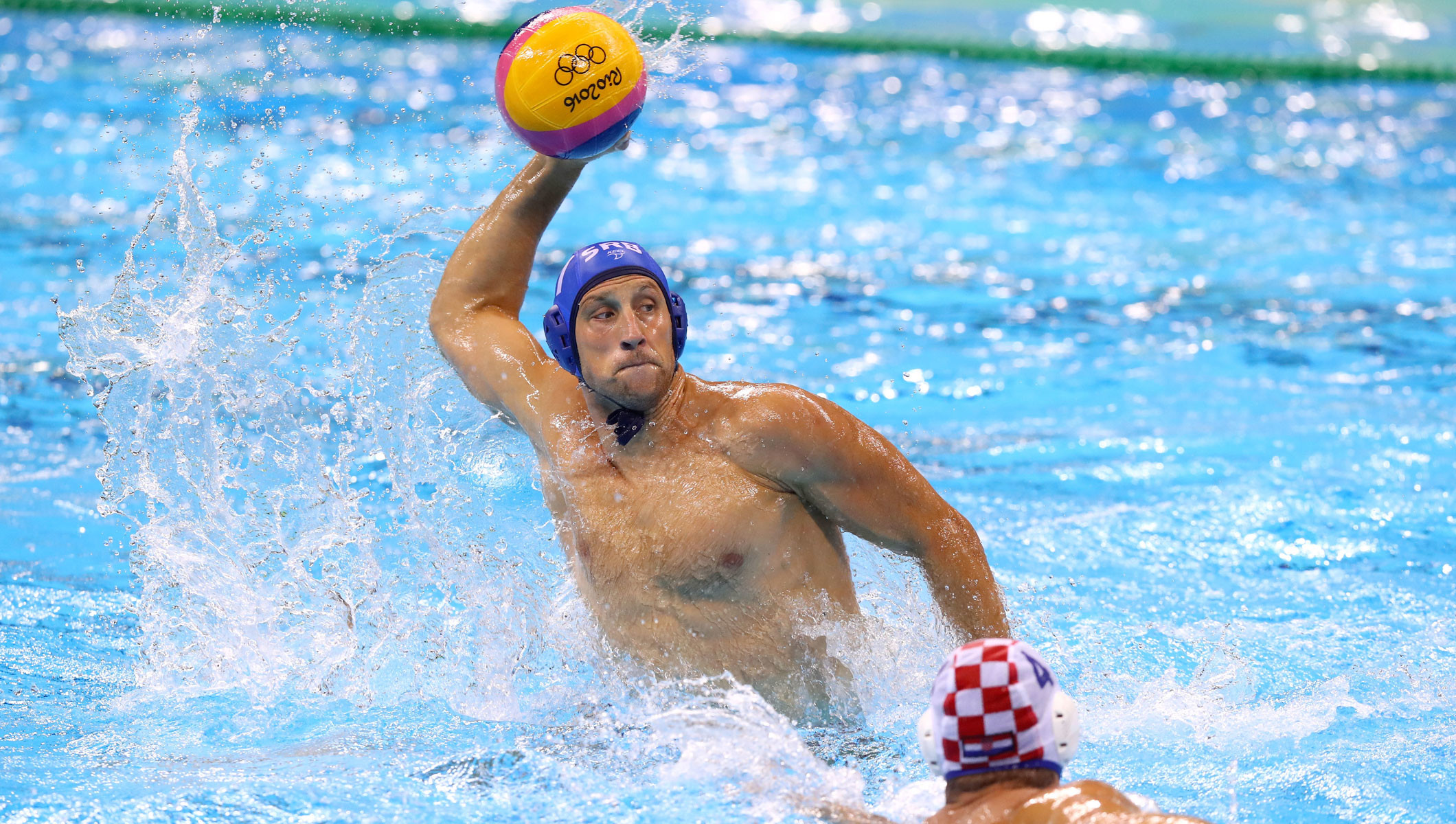 "water polo this i believe I believe if we communicate well on defense and play the same offensively, it should be a good game"" said david paradelo about water polo canada."
