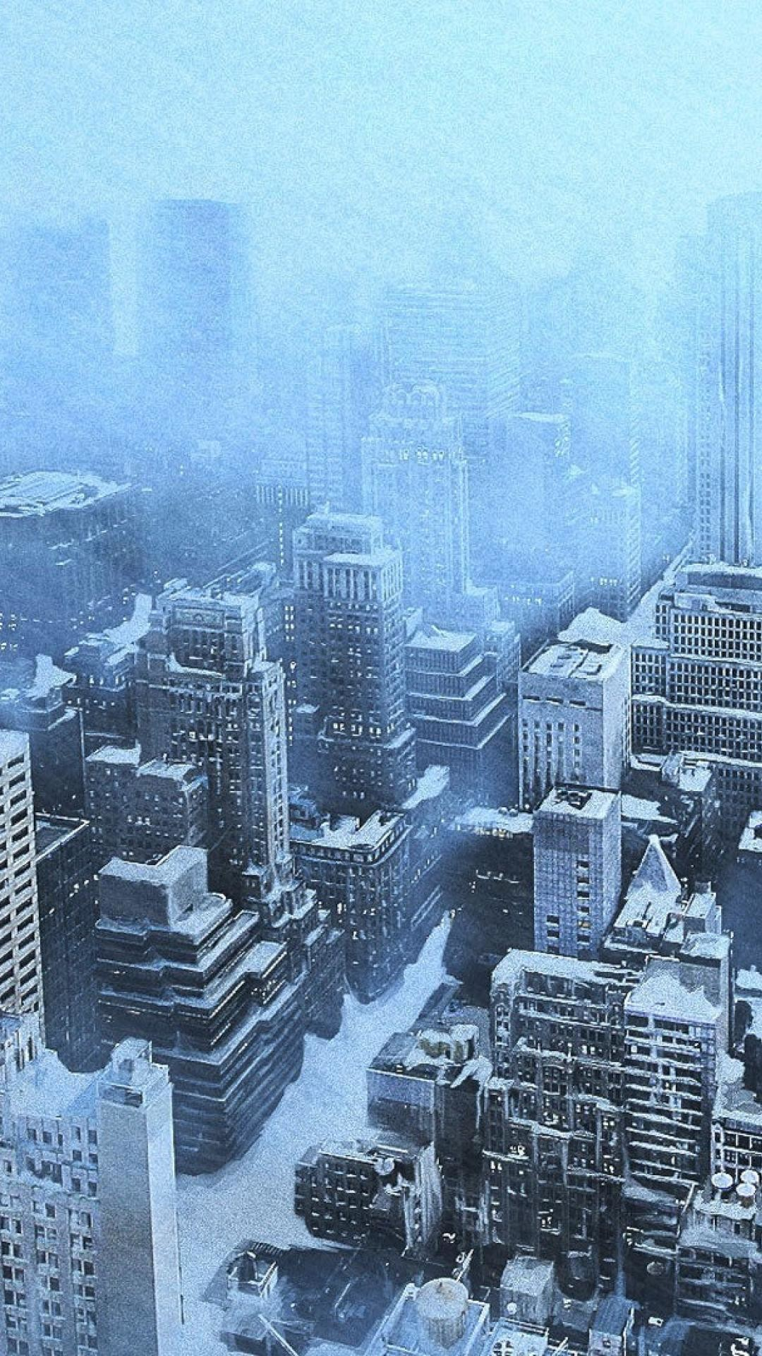 1080x1920 Winter snow new york city wallpaper | (13613)