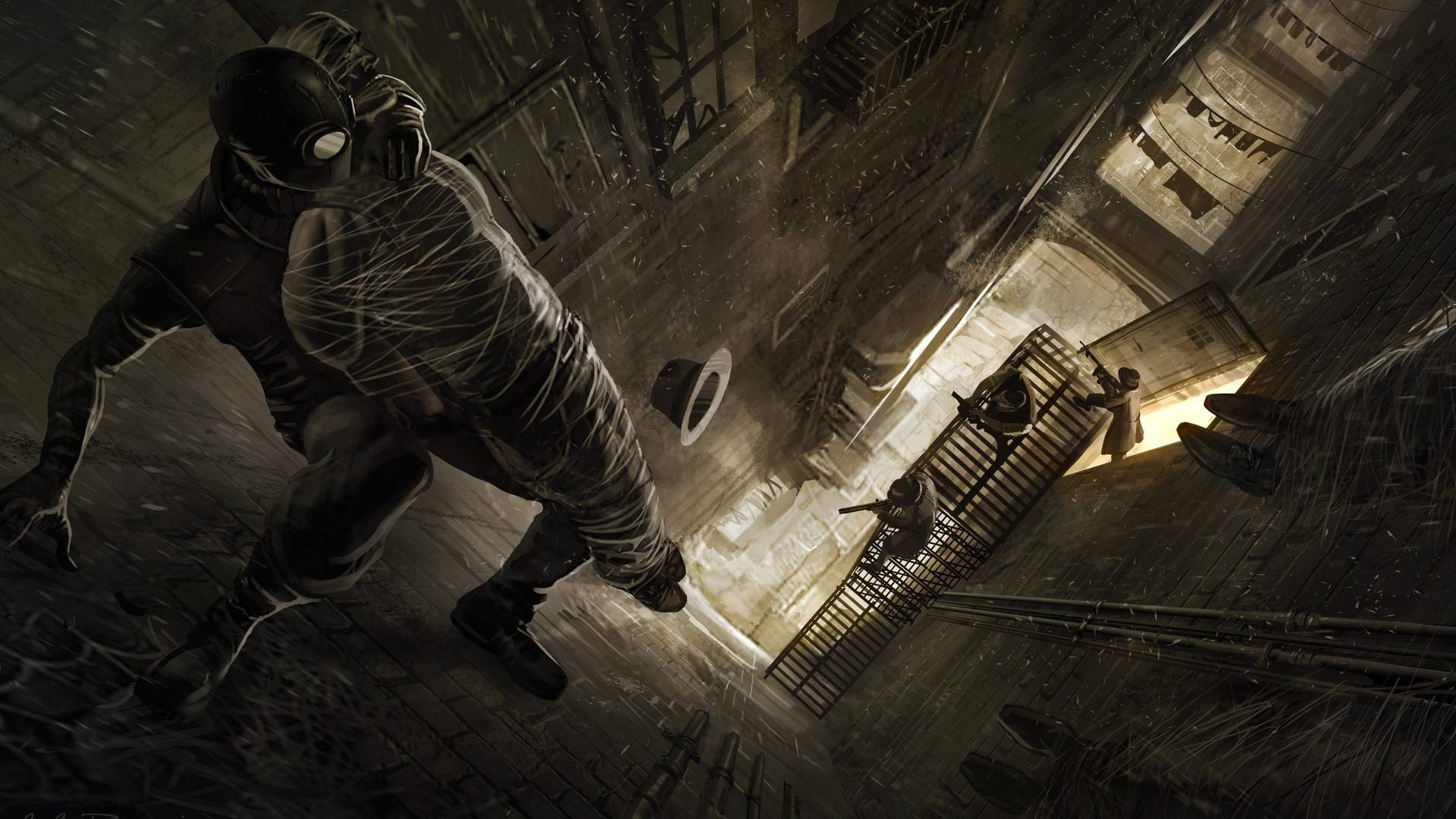Spider Man Noir Wallpaper 69 Images