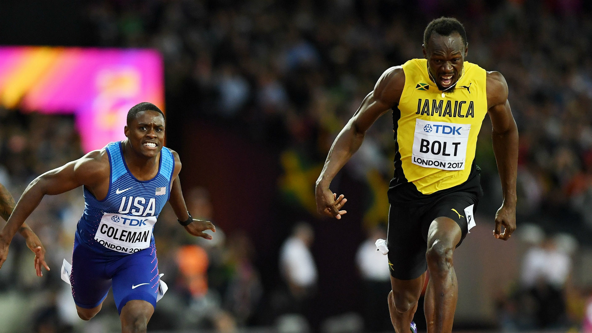 1920x1080 Christian Coleman: USA determined to deny Usain Bolt a golden farewell