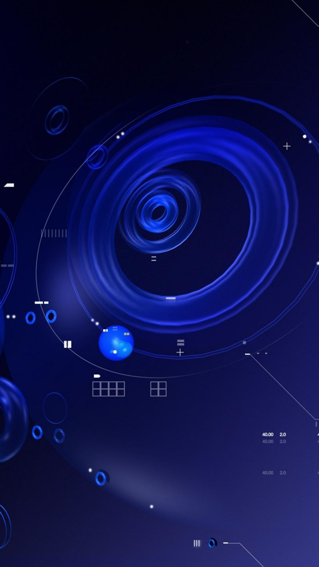 1080x1920 Android Abstract wallpaper full-hd-  blue_black_abstract_white_circles_numbers