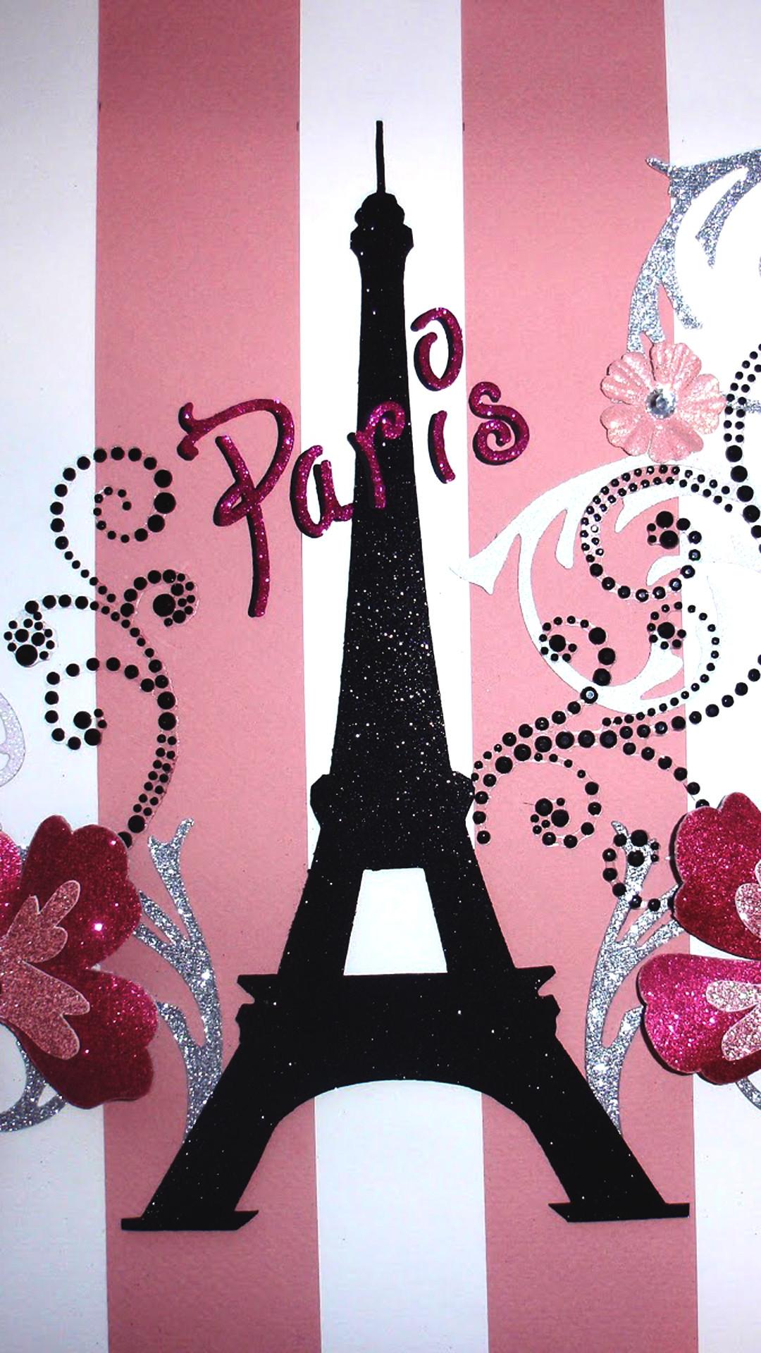 Pink Paris Wallpaper 49 Images