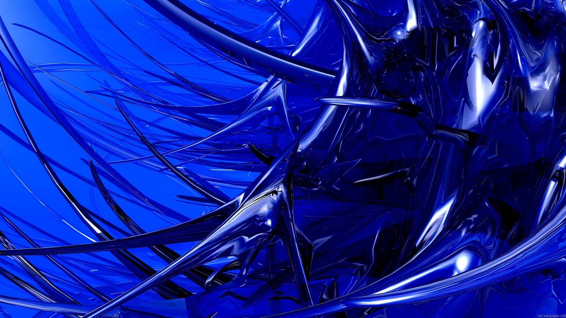 Hd Abstract Blue Background: Abstract Wallpapers And Screensavers (56+ Images