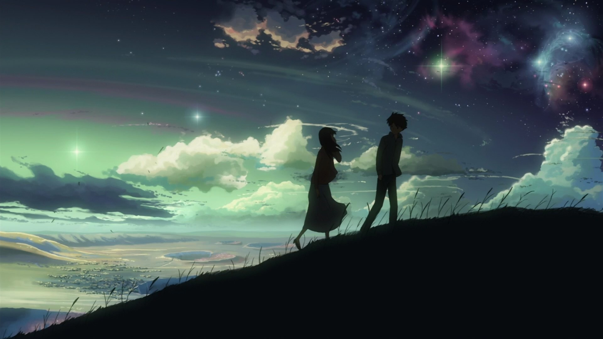 1920x1080 Anime - 5 Centimeters Per Second Akari Shinohara Takaki Touno Wallpaper