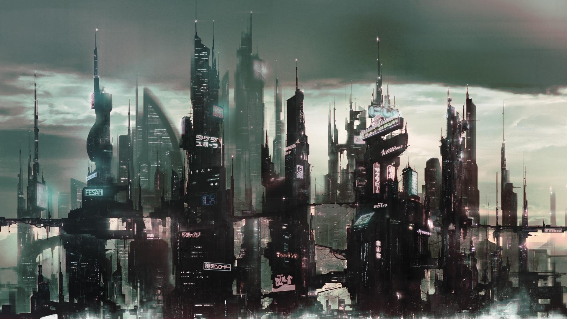 Futuristic City Wallpaper Hd: Blade Runner HD Wallpaper (78+ Images