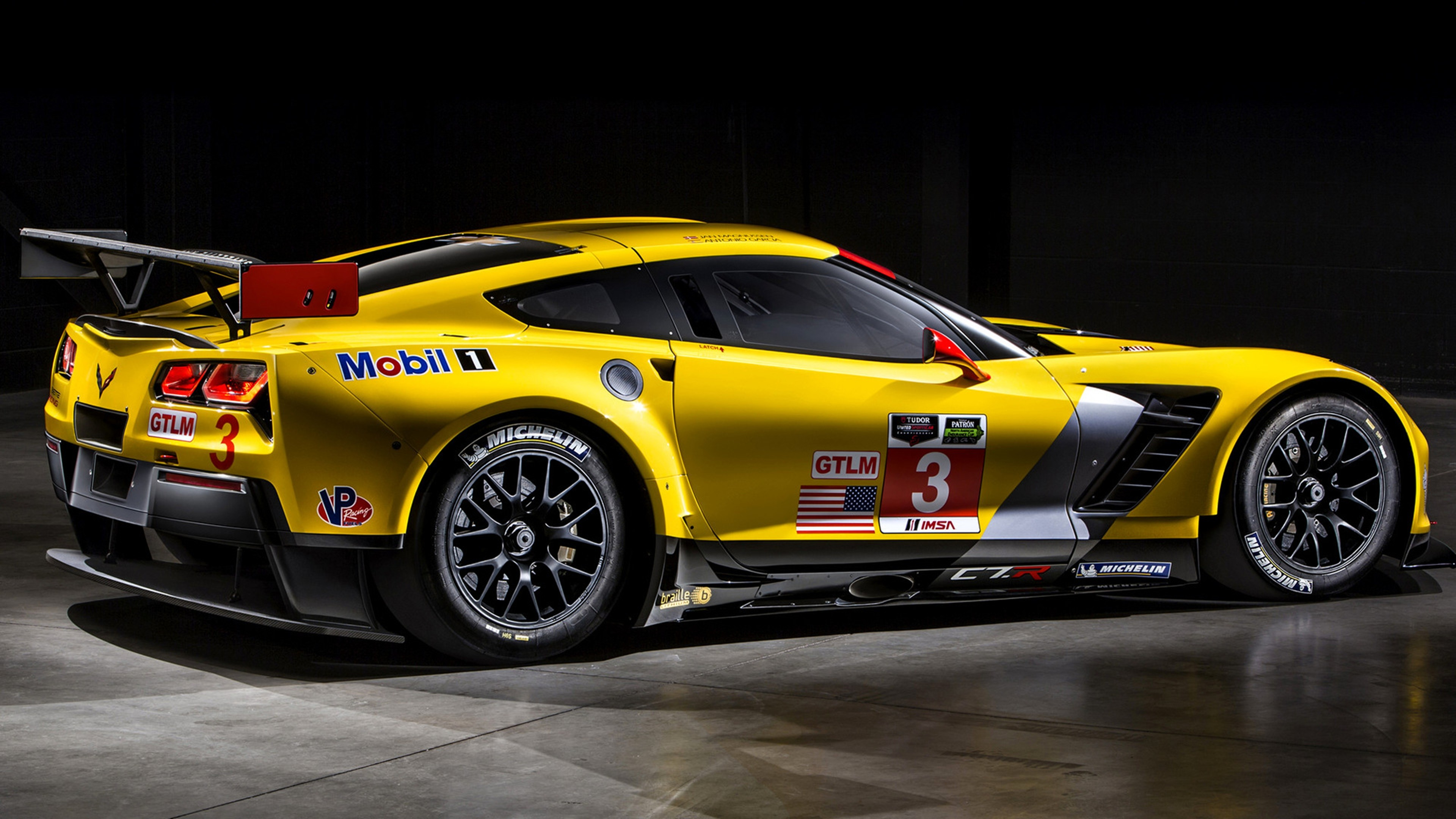 3840x2160 Vehicles - Chevrolet Corvette C7.R Sport Car Chevrolet Corvette Vehicle Car  Yellow Car Chevrolet