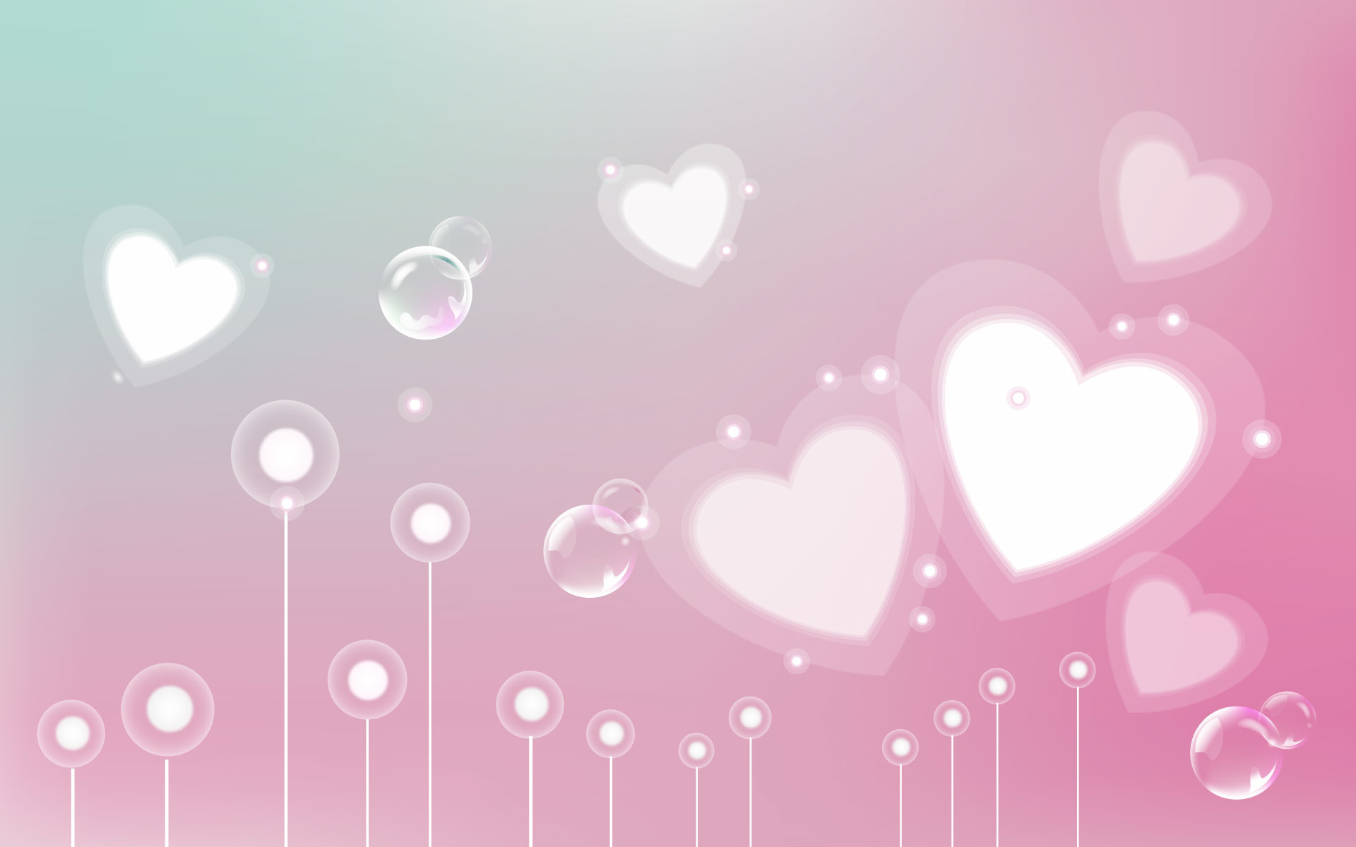1920x1200 background growing hearts images there valentine wallpaer wallpaper  wallpapers