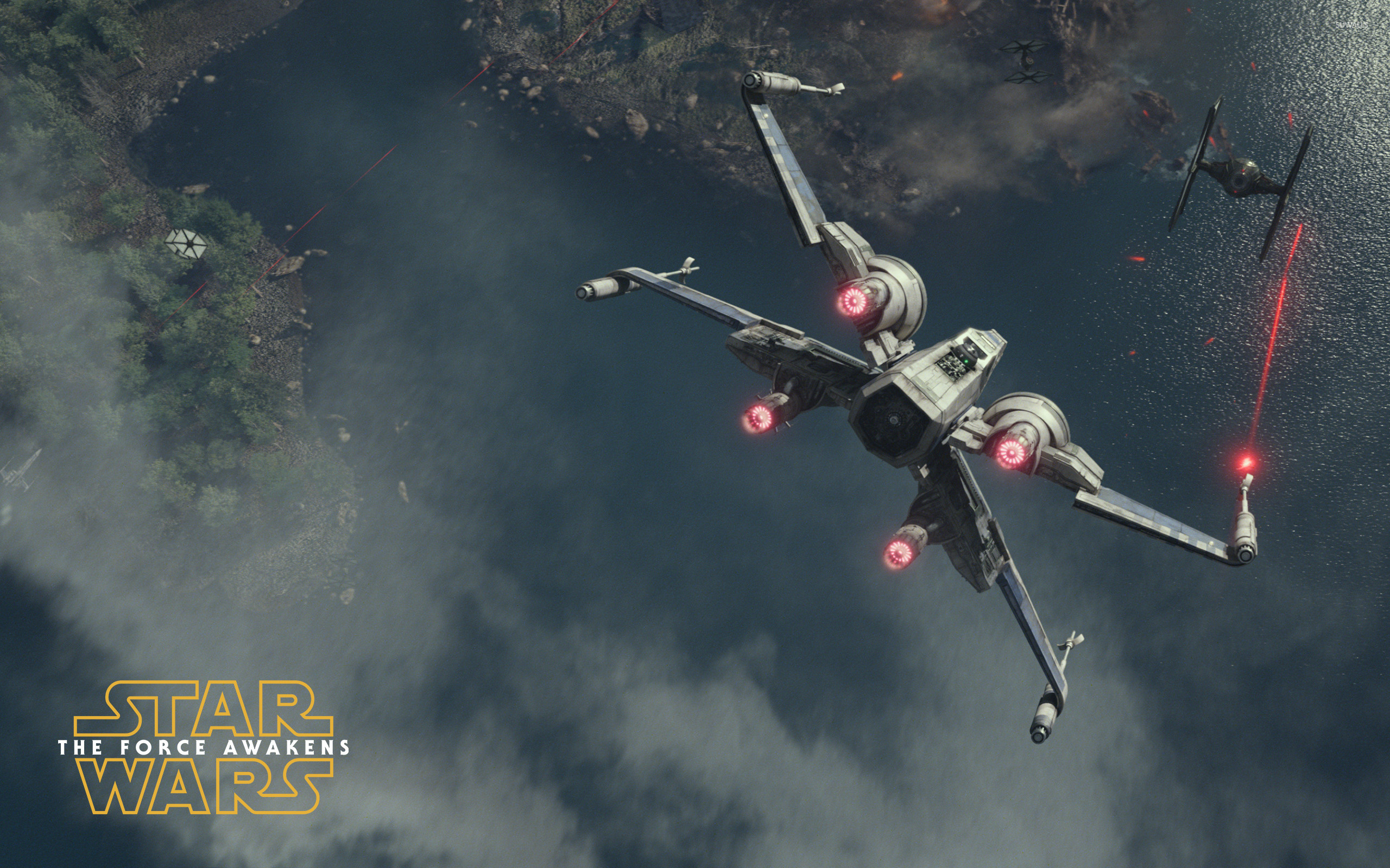 2560x1600 T-65 X-wing starfighter - Star Wars: The Force Awakens wallpaper