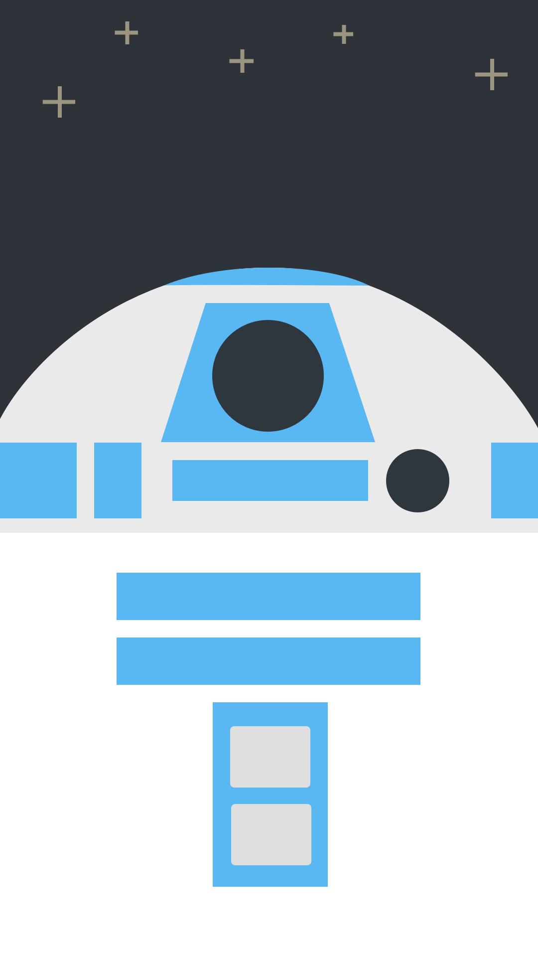 3840x2160 Star Wars R2 D2 Robot Minimalism BB 8