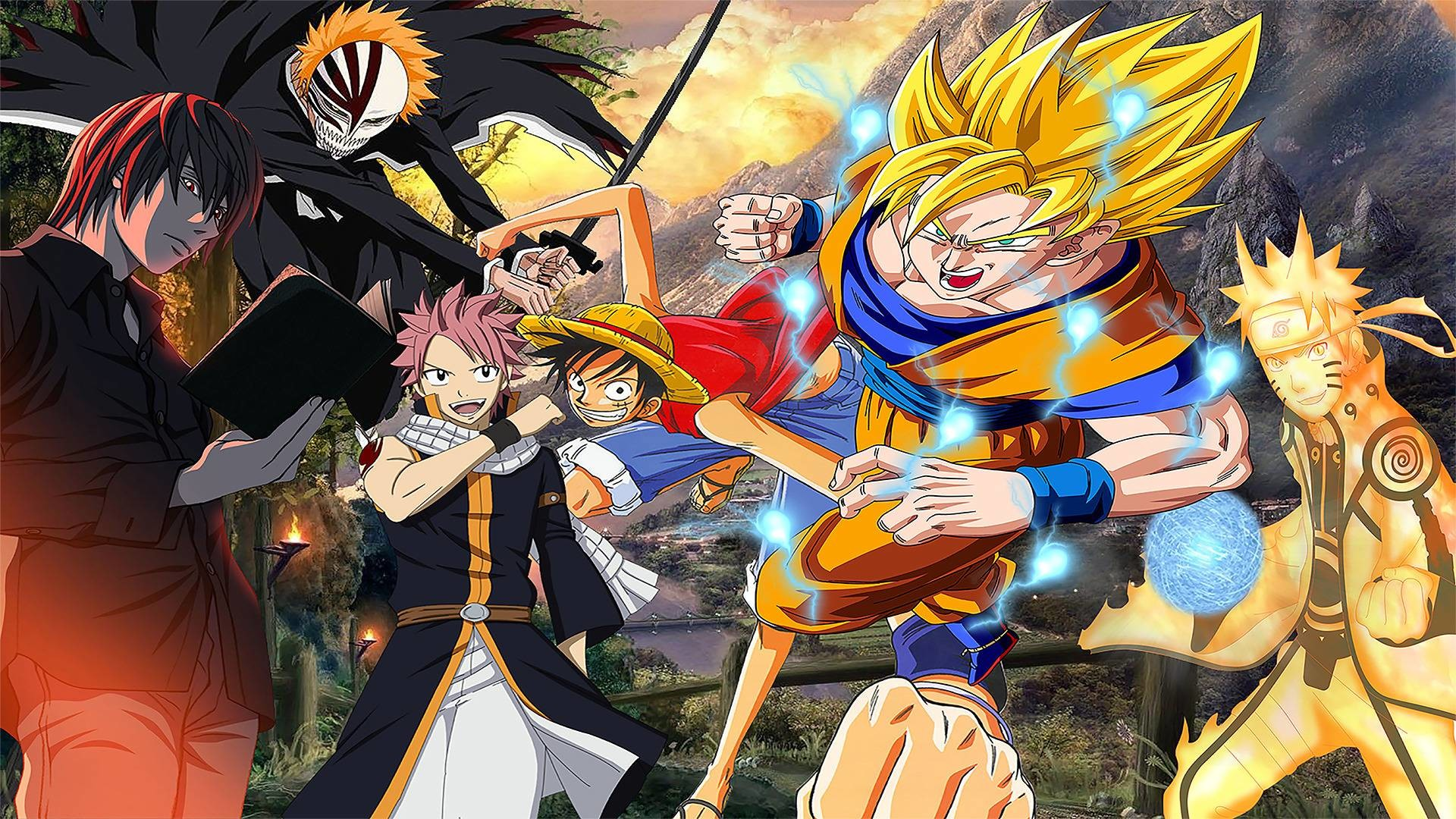 All anime characters hd wallpaper 65 images - Download wallpaper anime ...