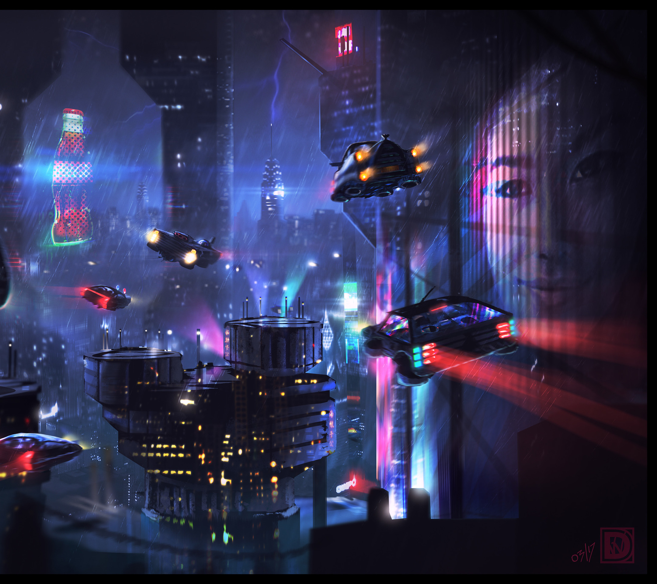 Sci Fi City Wallpapers (74+ Images