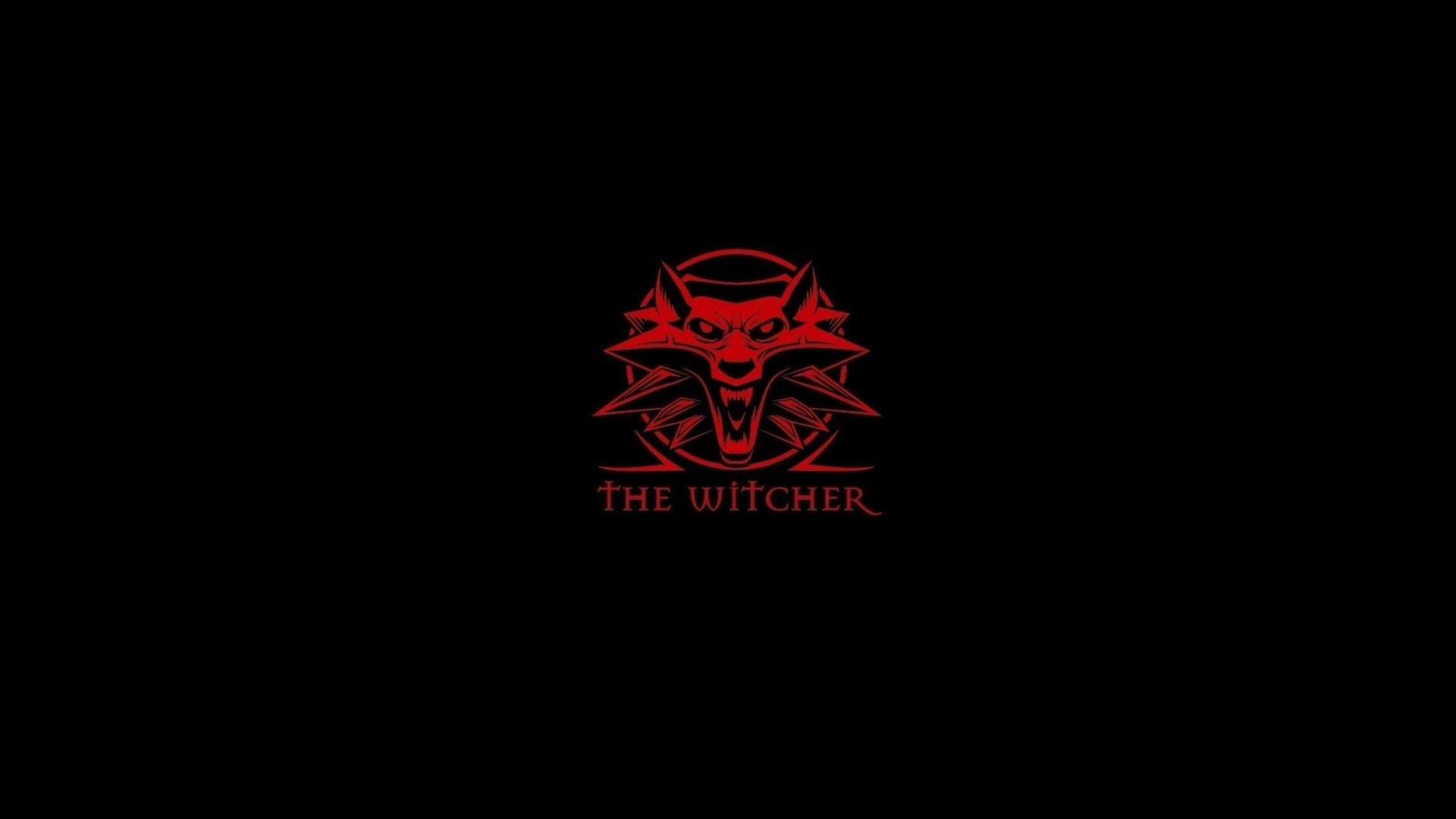 1920x1080 Download Wallpaper  the witcher, emblem, wolf .