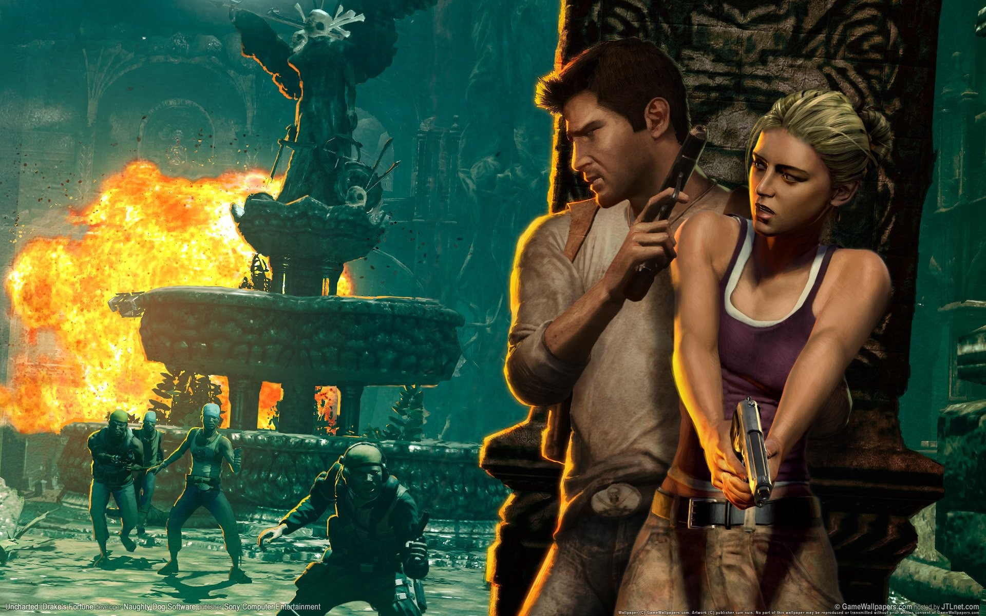 1920x1200 Uncharted PS Wallpapers PS Home 1280×720 Uncharted Wallpapers (37 Wallpapers)  | Adorable