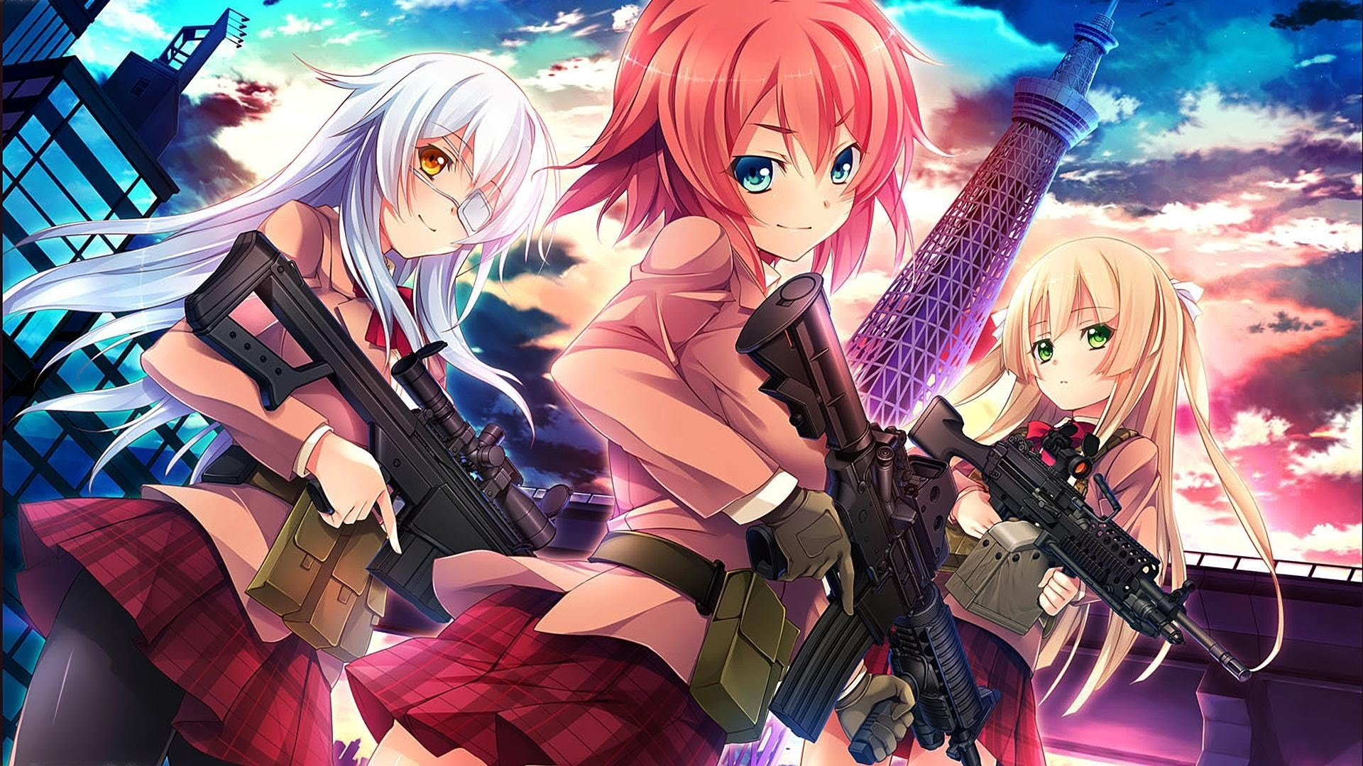 1920x1080 LASS GRAN ARMA | Anime Girls with Weapons ❤ | Pinterest | Art boards and  Anime