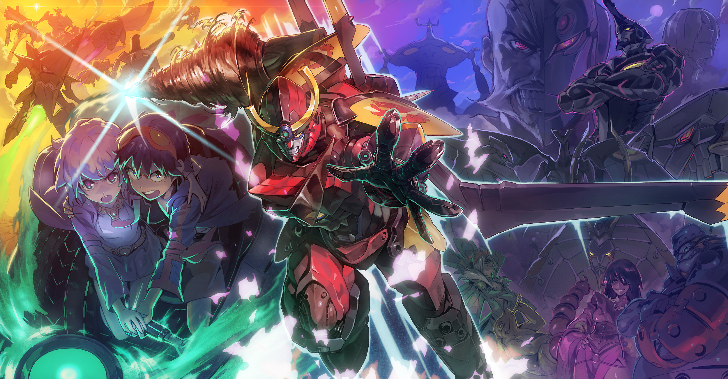 2500x1301 Only the best free Tengen Toppa Gurren Lagann wallpapers you can find  online! Tengen Toppa Gurren Lagann wallpapers and background images for  desktop, ...