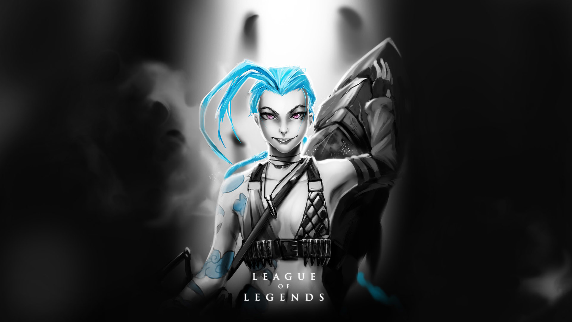 1920x1080  Jinx League Of Legends Wallpaper Jinx league of legends hd