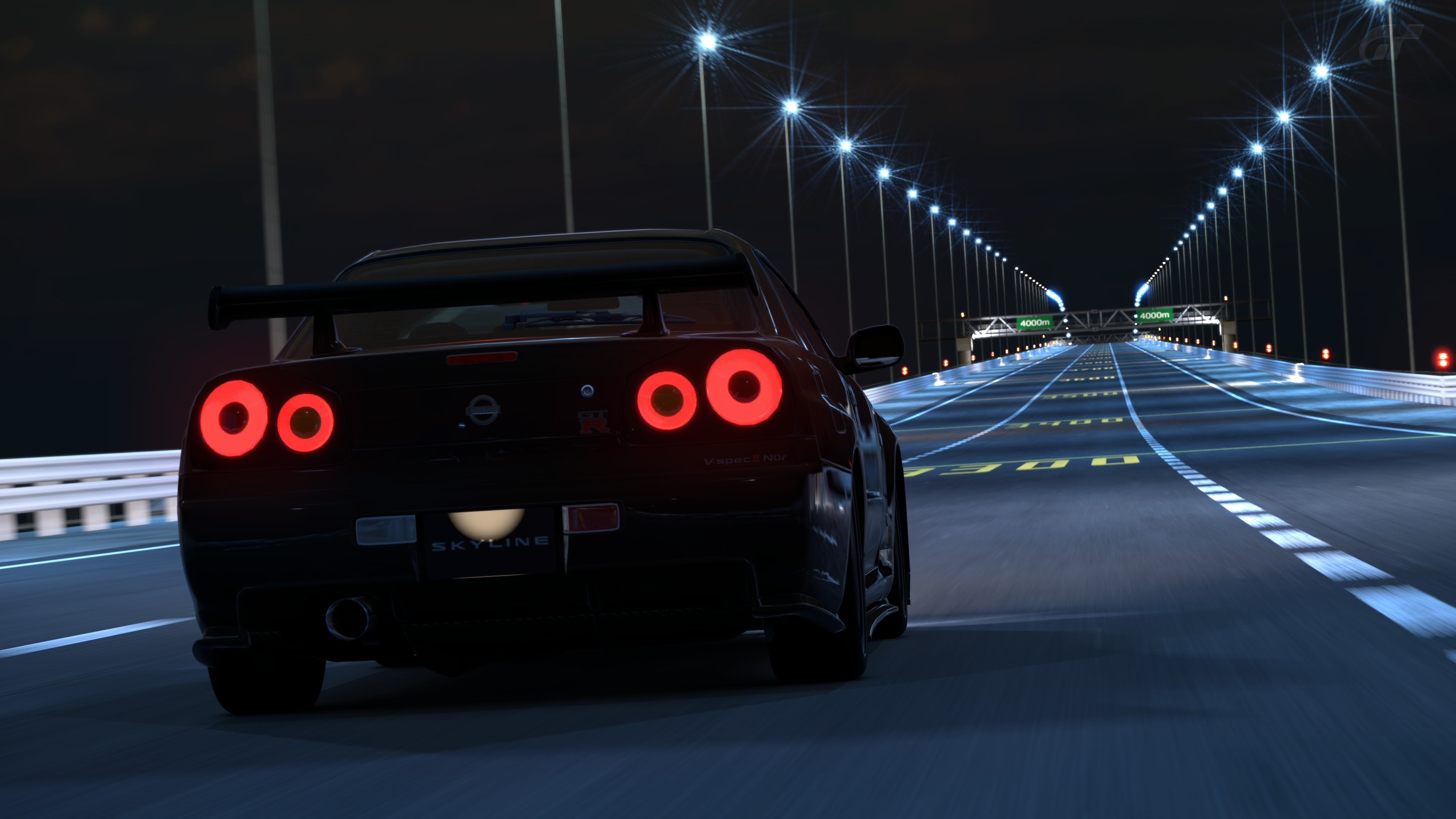 3840x2160 Need For Speed 2015: Corridas com ele NISSAN SKYLINE GT-R R34