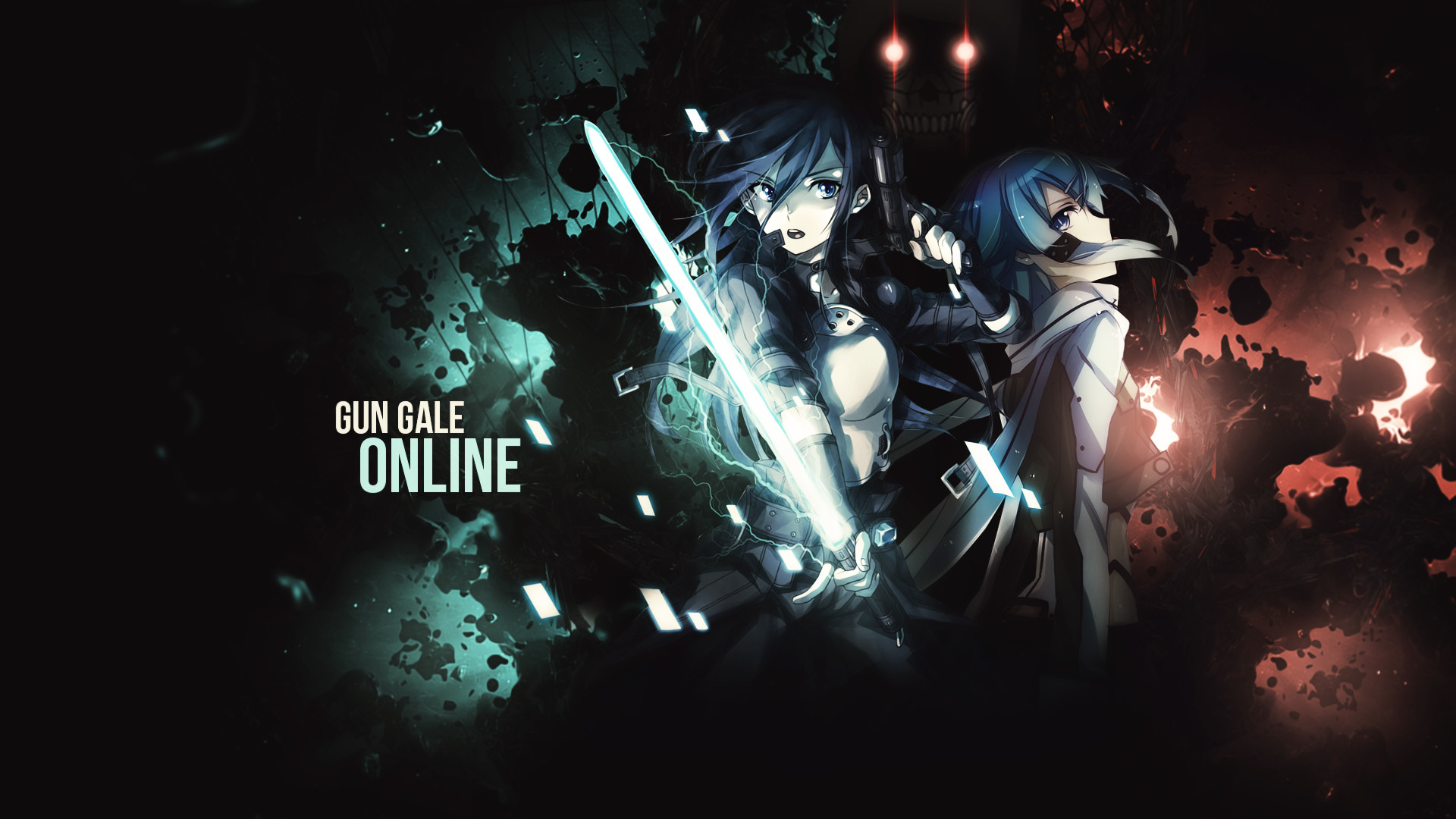 1920x1080 Anime - Sword Art Online II Death Gun (Sword Art Online) Sinon (Sword