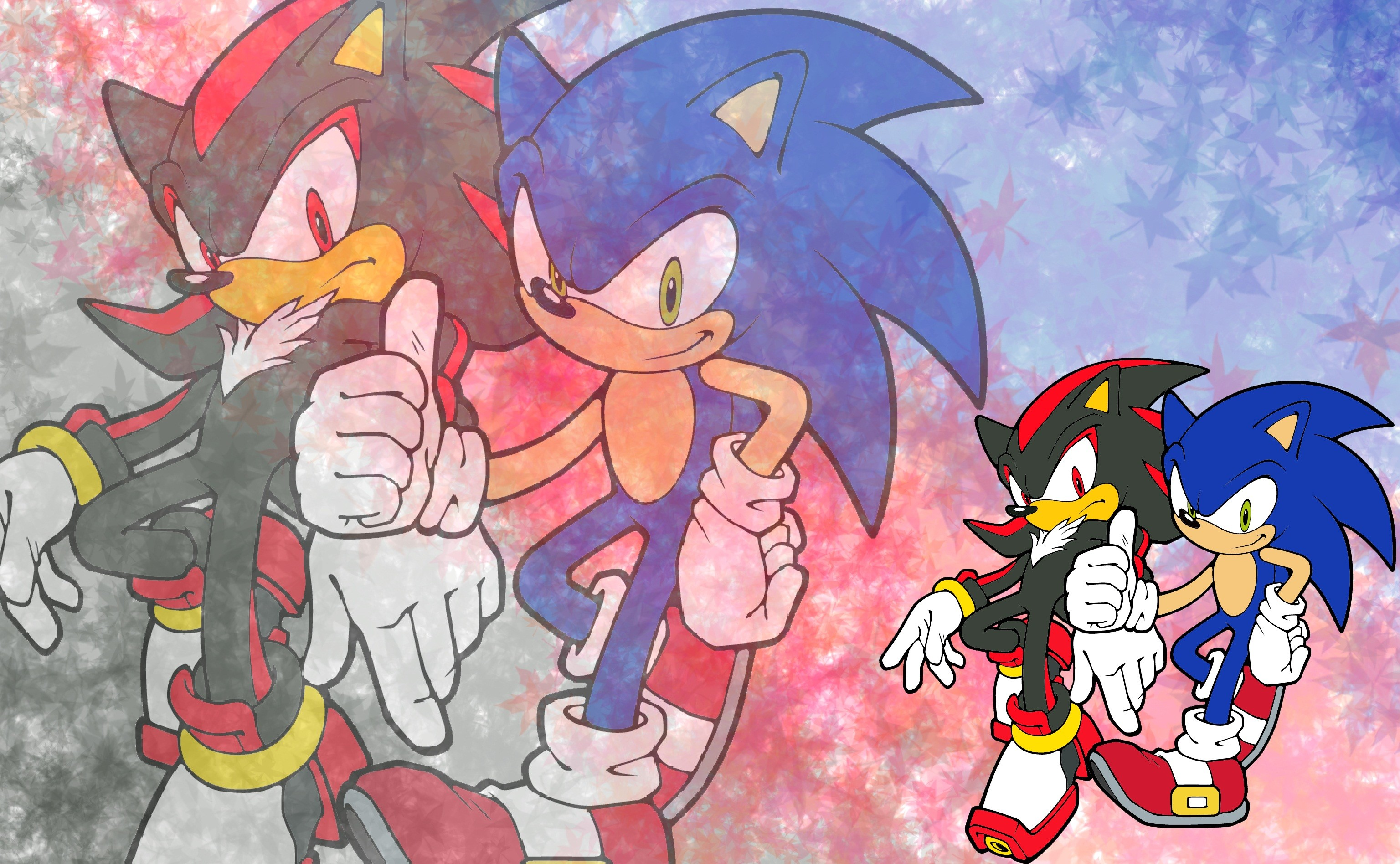 3072x1896 Video Game - Sonic Adventure 2 Sonic the Hedgehog Shadow the Hedgehog  Wallpaper