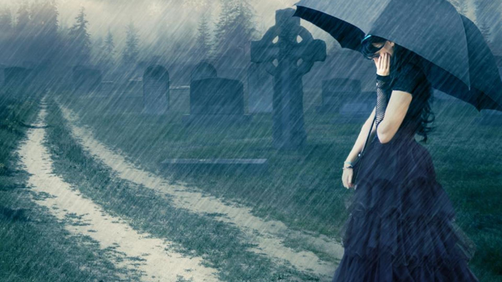 1920x1080 Sad Rain Wallpapers High Definition HD Quality Resolution  px  196.33 KB