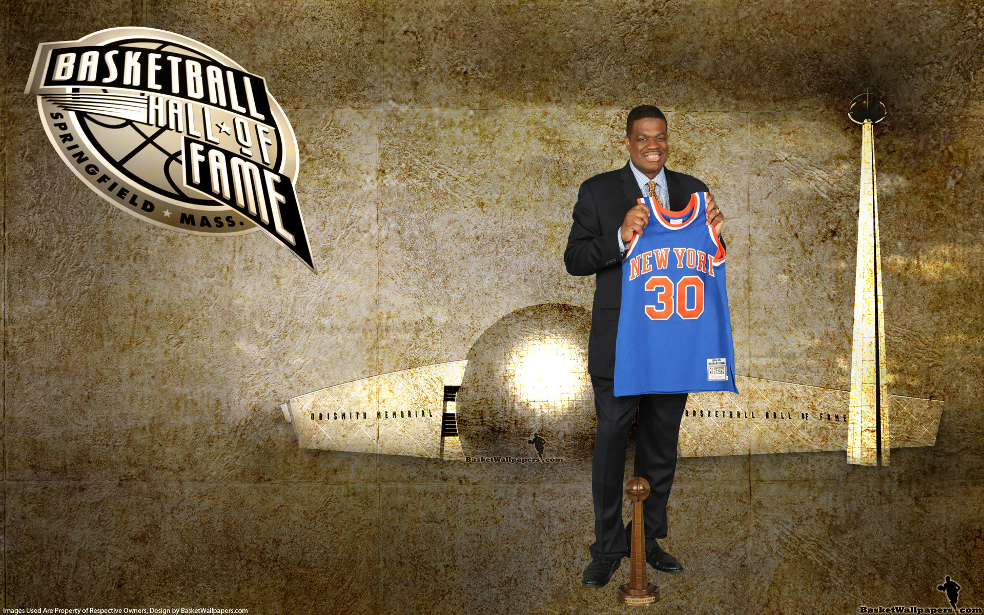 1920x1200 NBA Wallpaper - Bernard King, the Well-Liked Retired New York Knicks Player!