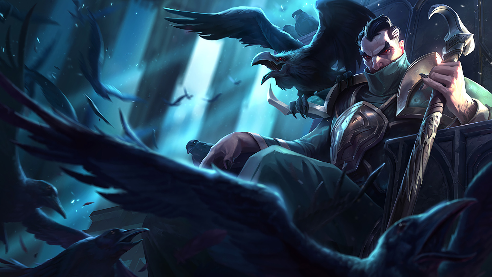 1920x1080 Video Game - League Of Legends Swain (League Of Legends) Wallpaper