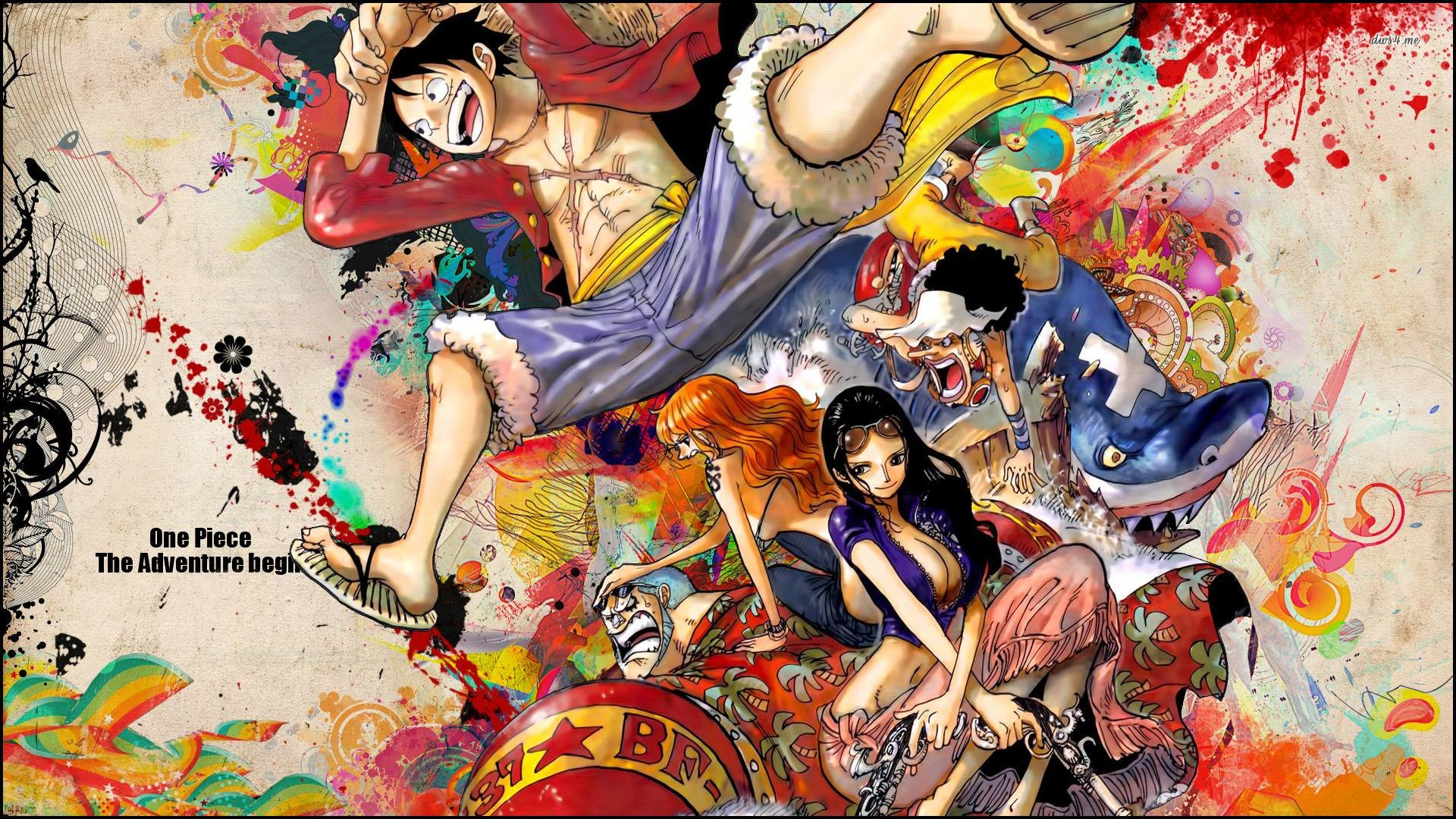 1920x1080 One Piece Chibi Wallpaper - One Piece Anime Wallpaper