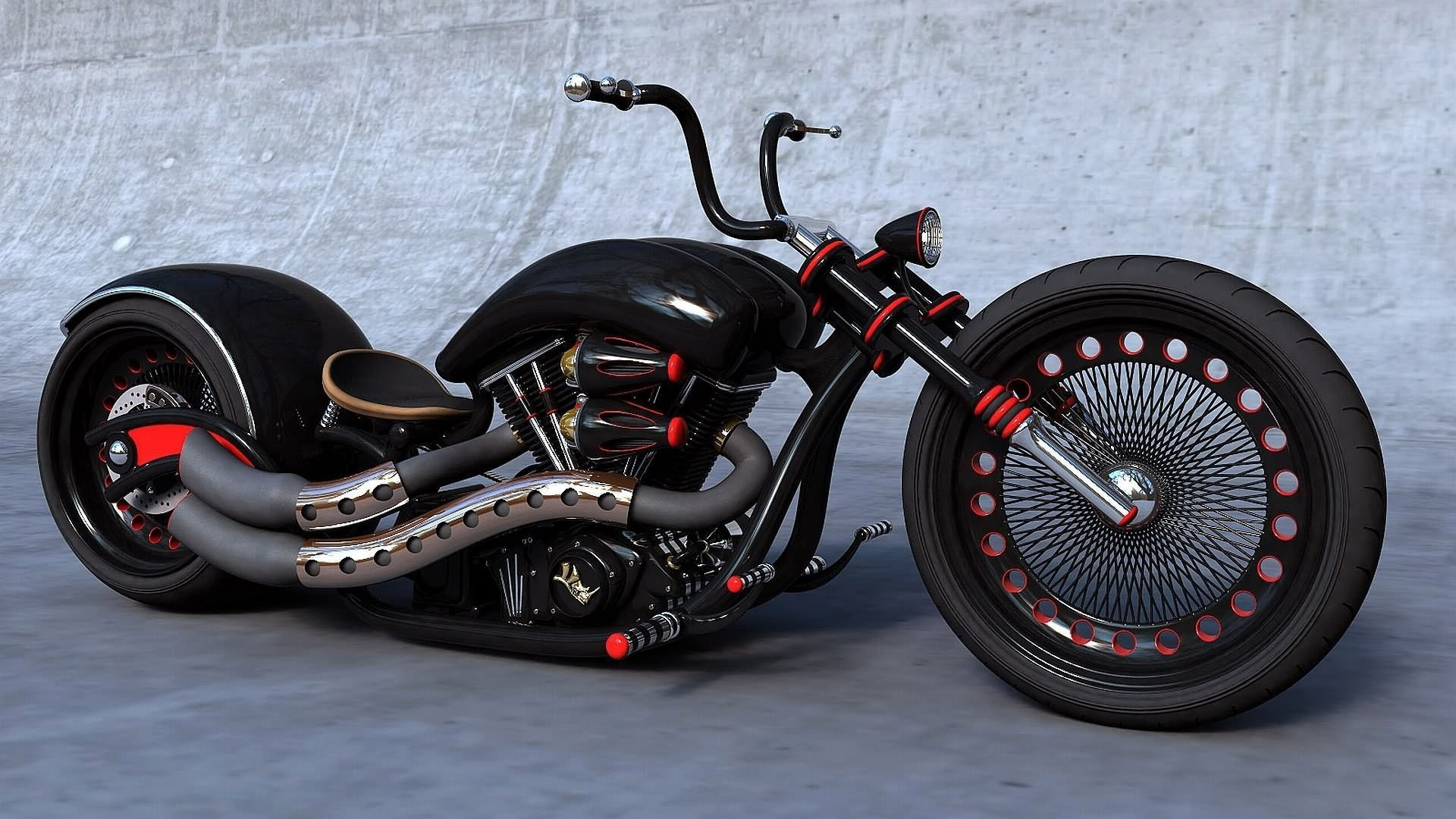 1920x1080 Harley Davidson Chopper Wallpaper Free #tKF