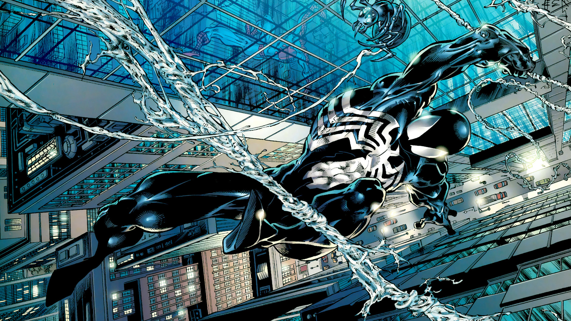1920x1080 Spider-man Venom HD wallpaper thumb