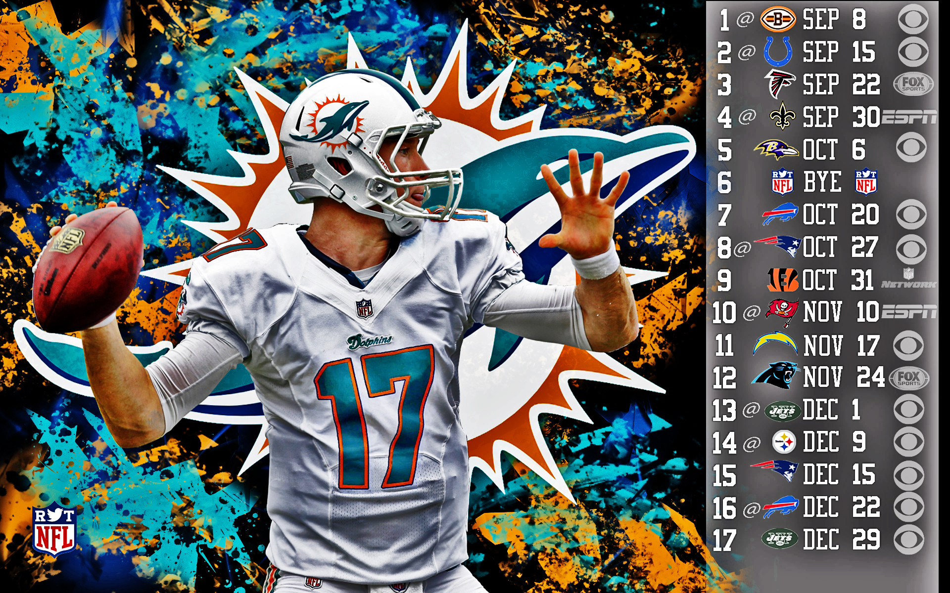 Miami dolphin wallpapers 71 images - Miami dolphins wallpaper ...