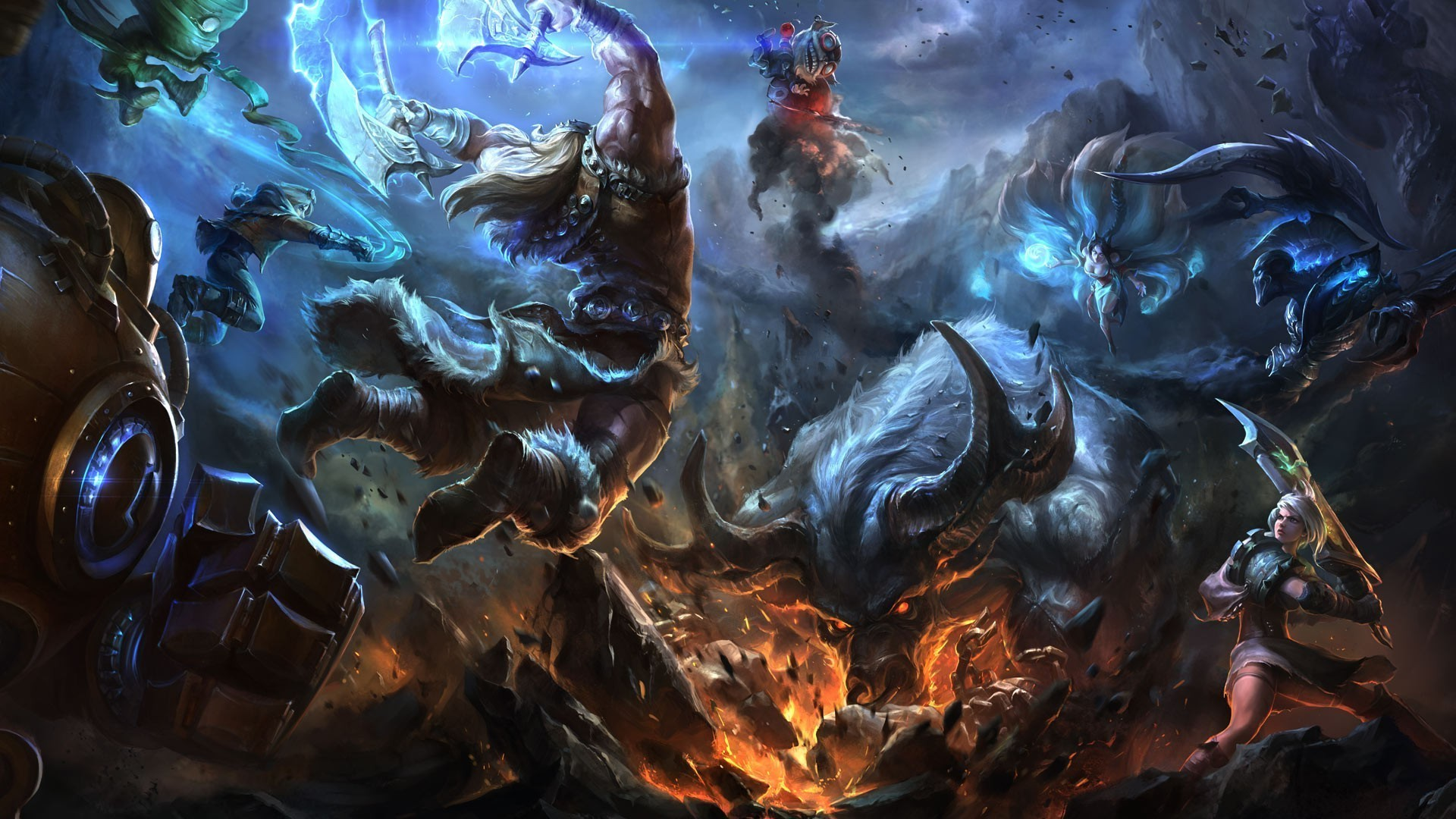 1920x1080 League of Legends HD Wallpapers
