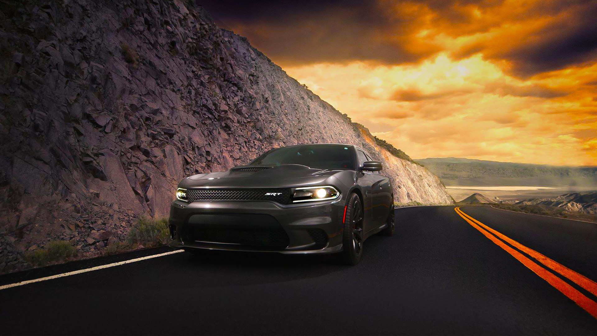 1920x1080 Dodge Charger SRT Hellcat 2015 Car HD Wallpapers HD Wallpapers