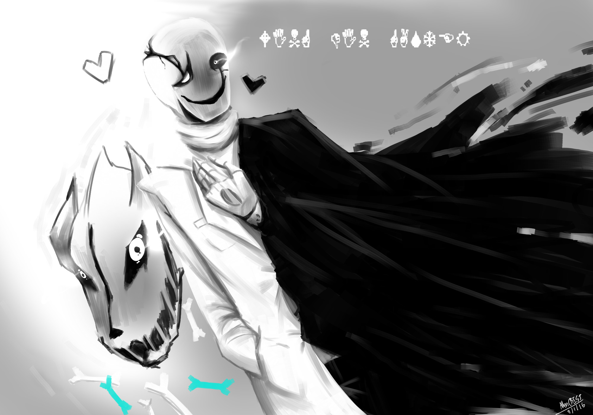 Undertale Gaster Wallpaper 77 Images