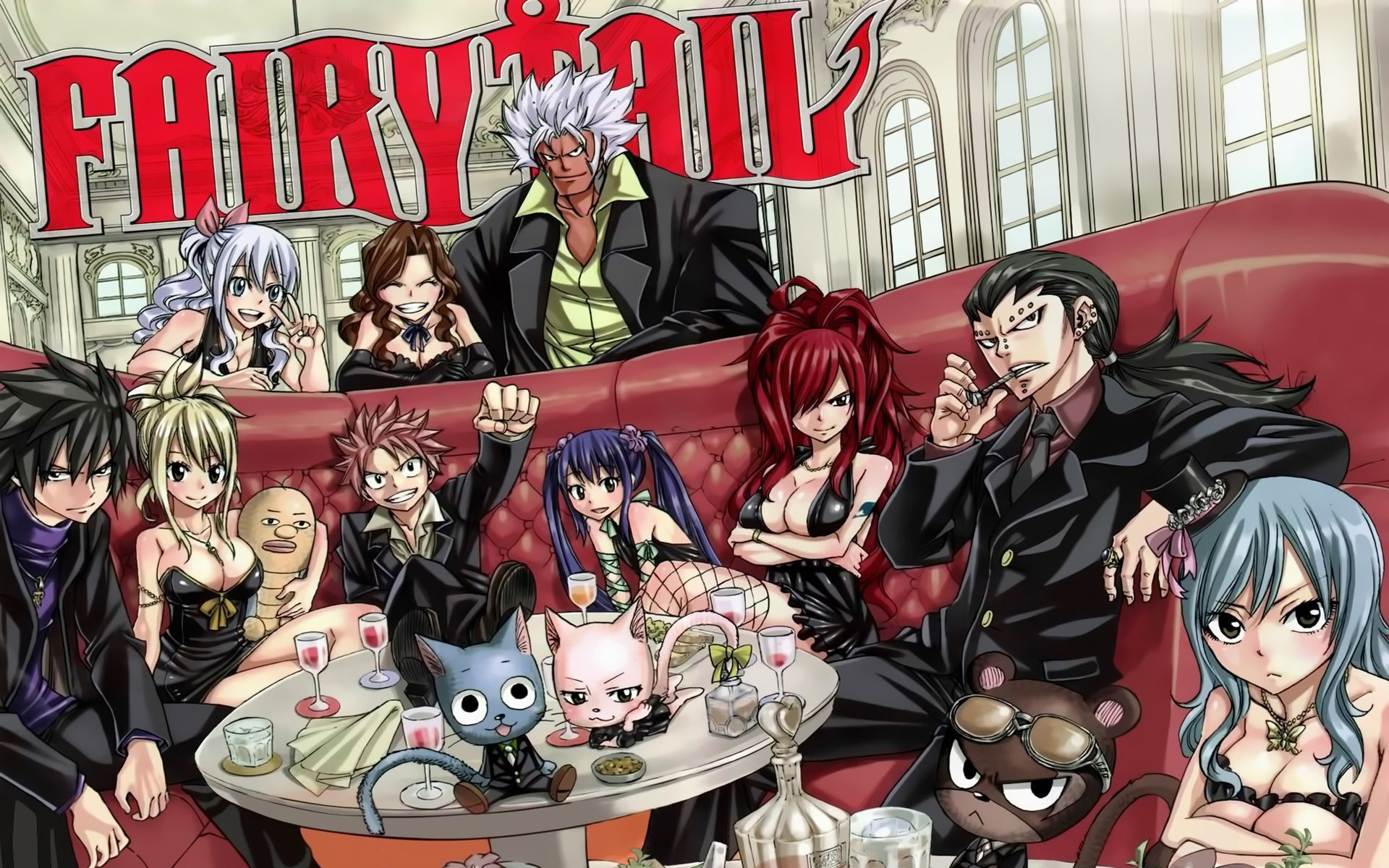 1920x1200 Fairy Tail Anime Pictures