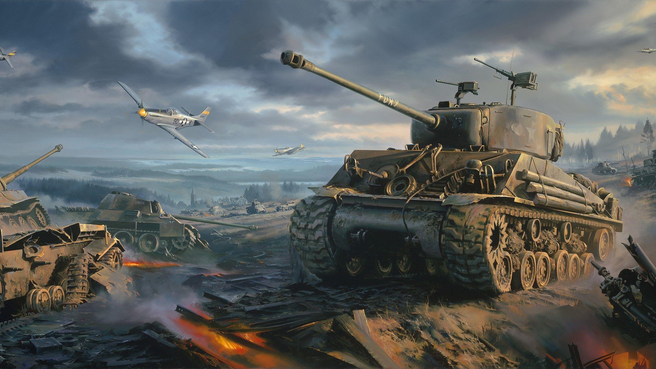 WW2 Tank Wallpaper (68+ images)
