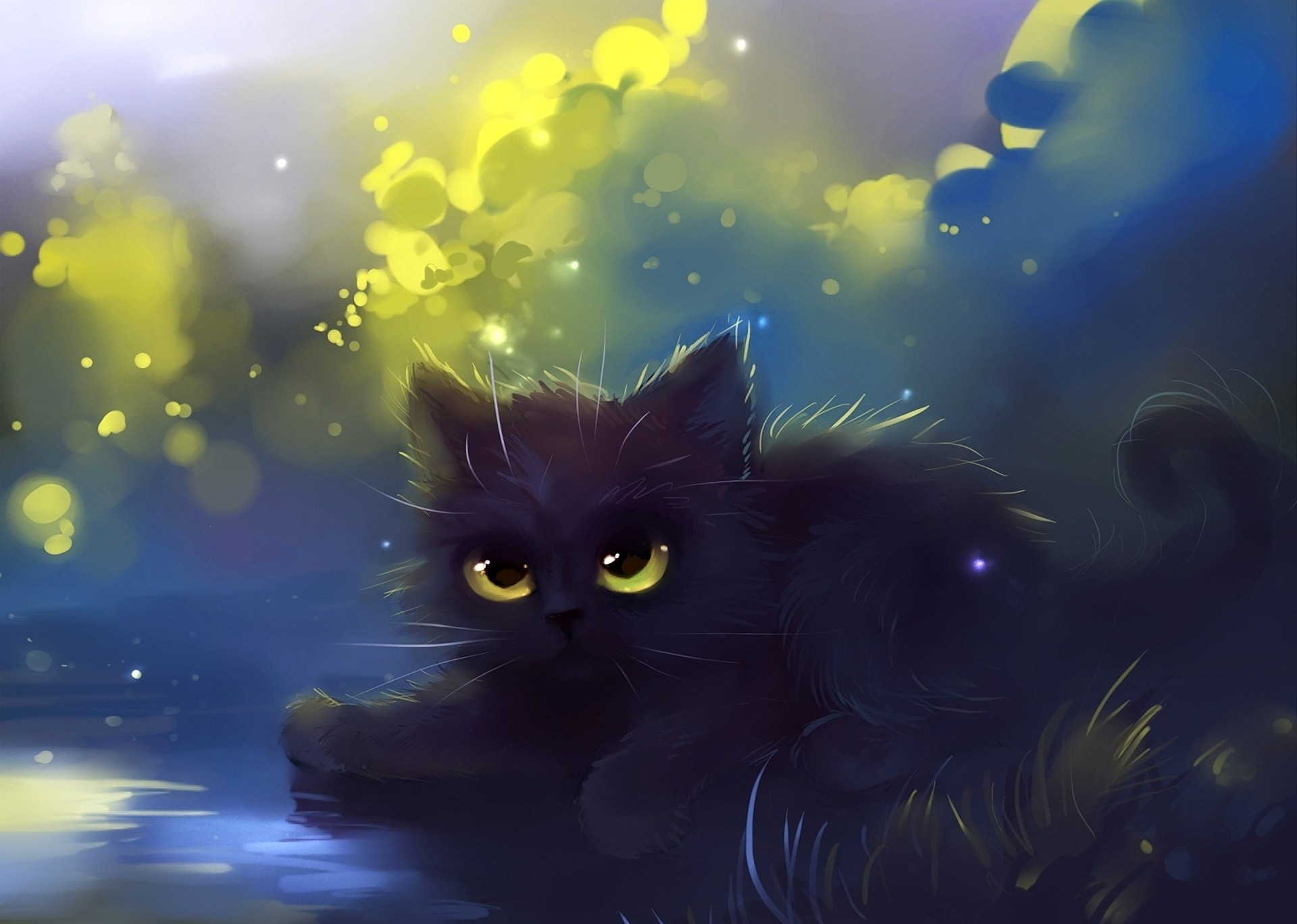1920x1368 pin Drawn kittens cat wallpaper #3