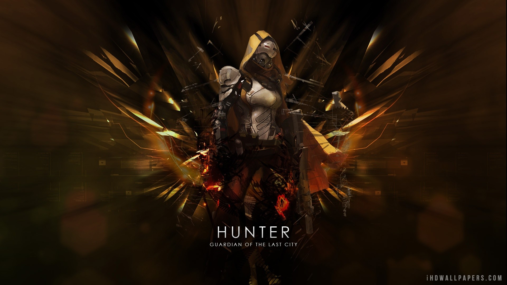 1920x1080 Destiny Hunter HD Wallpaper - iHD Wallpapers