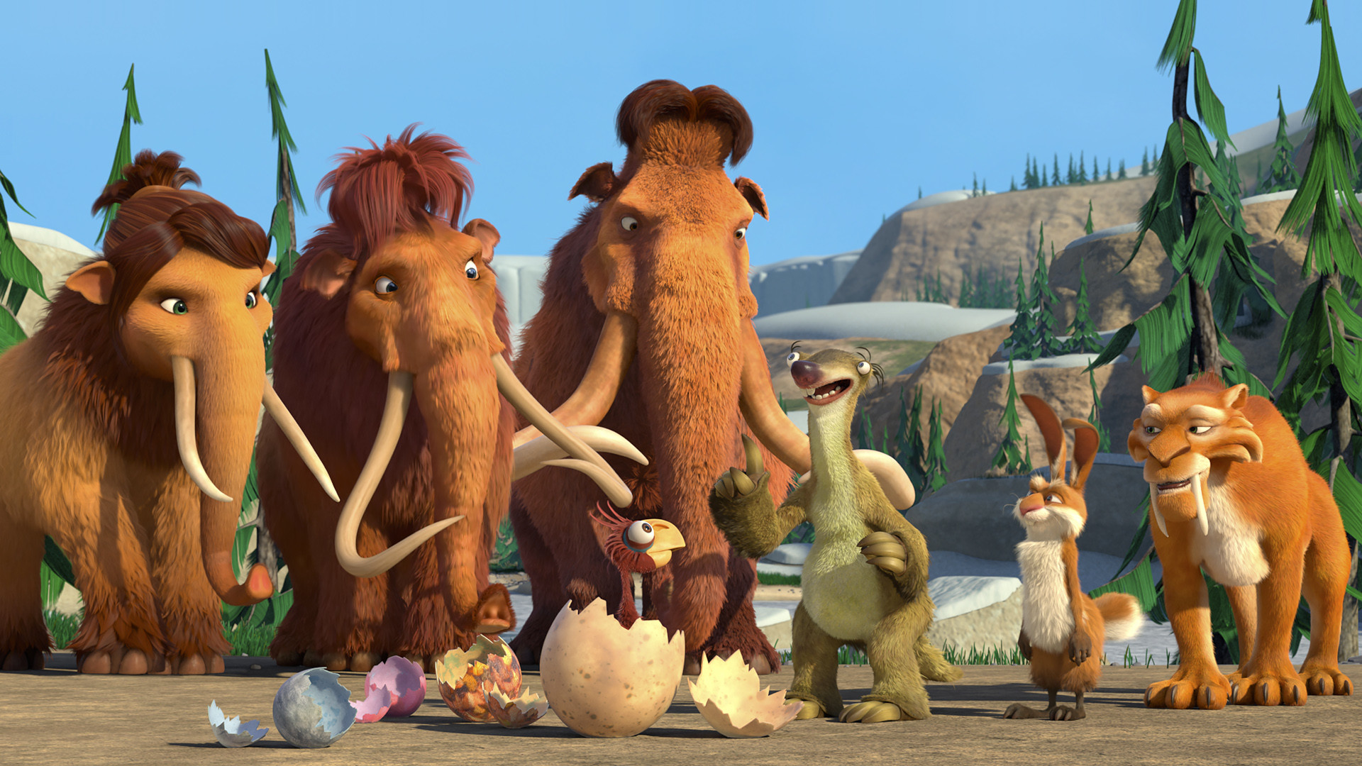 1920x1080 Movie - Ice Age: The Great Egg-Scapade Wallpaper