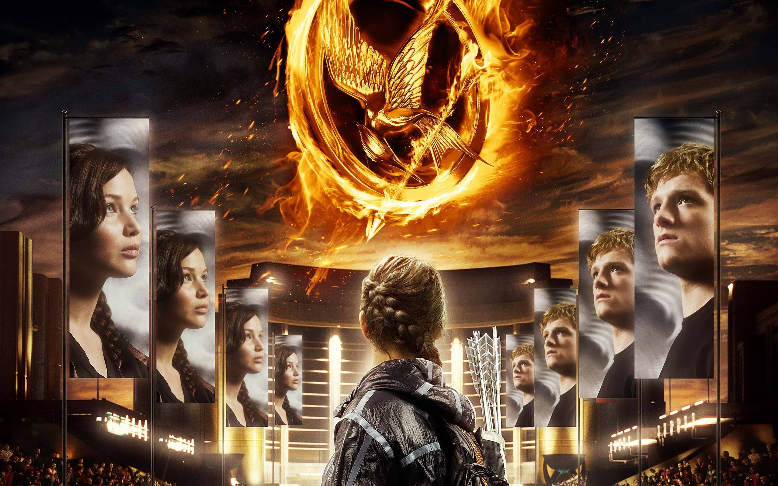 2560x1600 The Hunger Games 2012