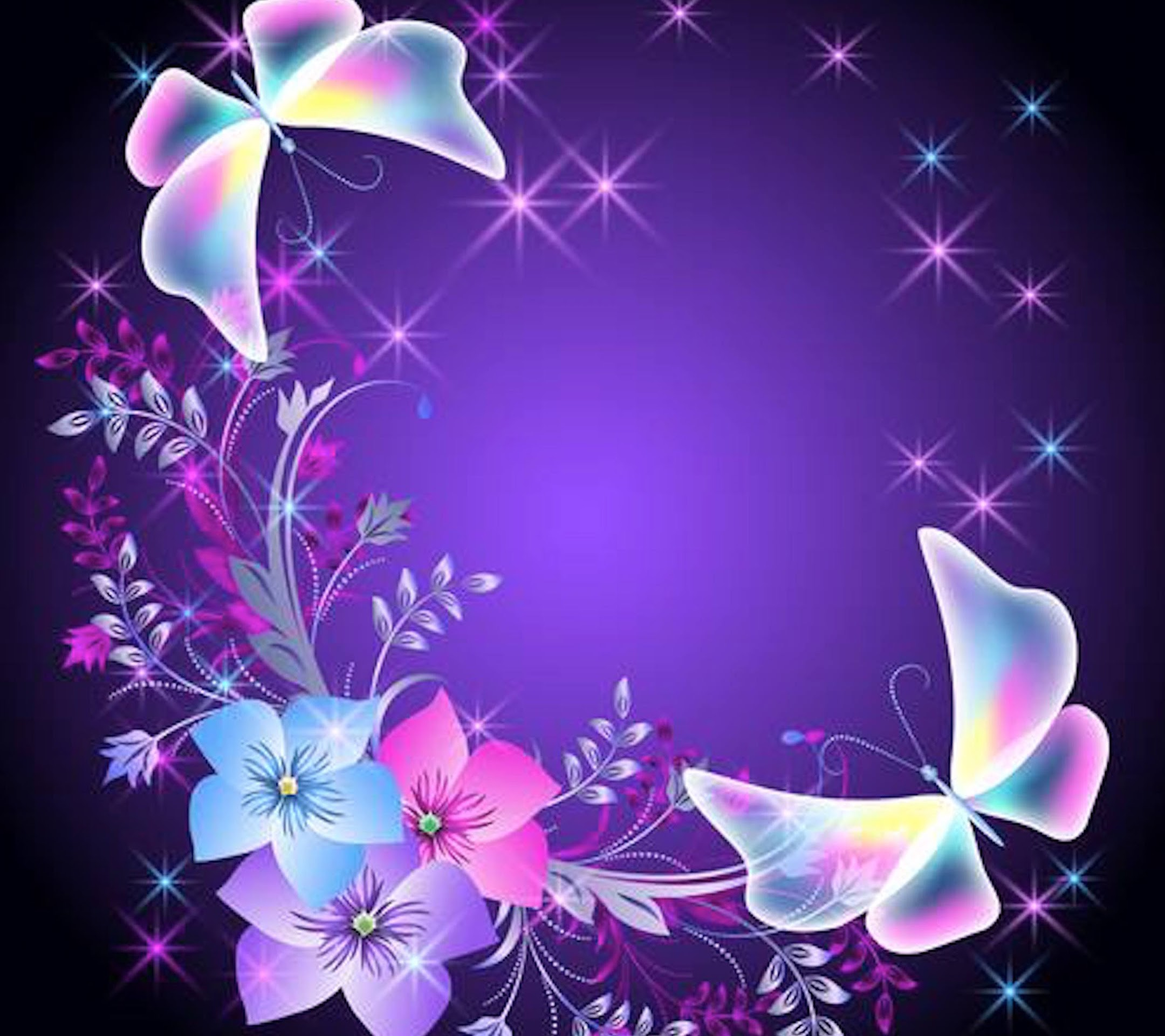 Pink Butterfly Wallpaper: Purple Butterfly Wallpapers (63+ Images