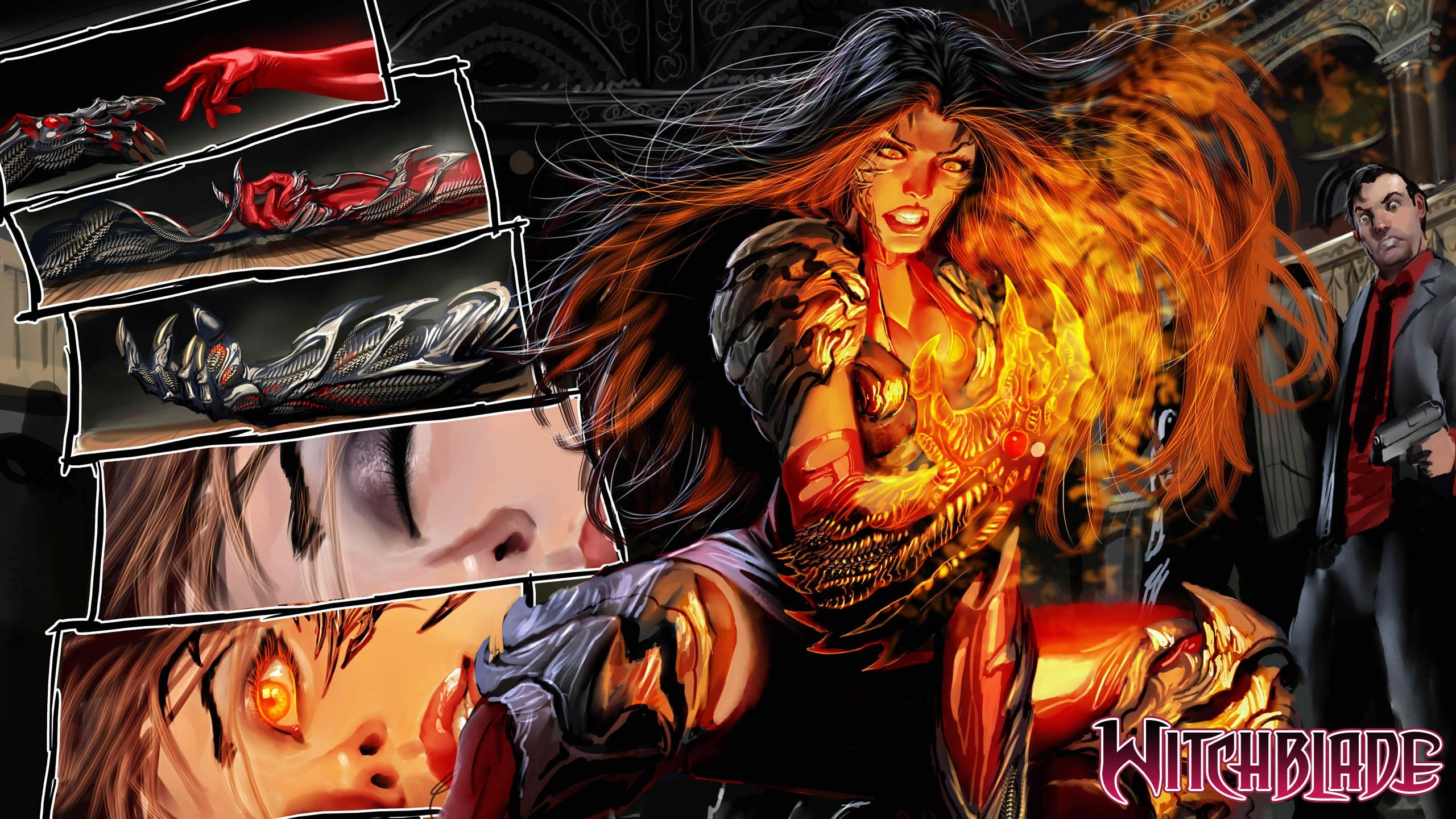 2560x1440 HQ Definition Wallpaper Desktop witchblade. Free witchblade