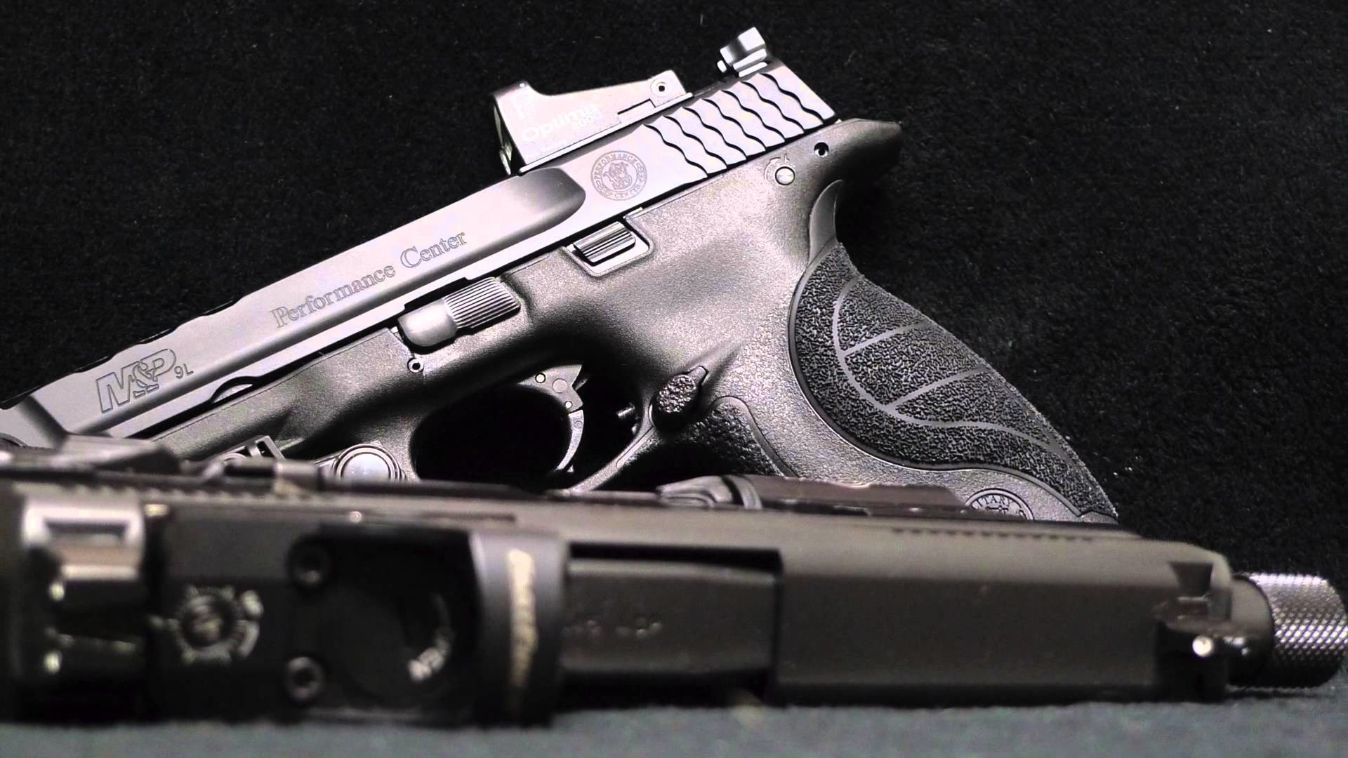 1920x1080 2015 Smith&Wesson M&P Performance Center ported 9mm (HD)