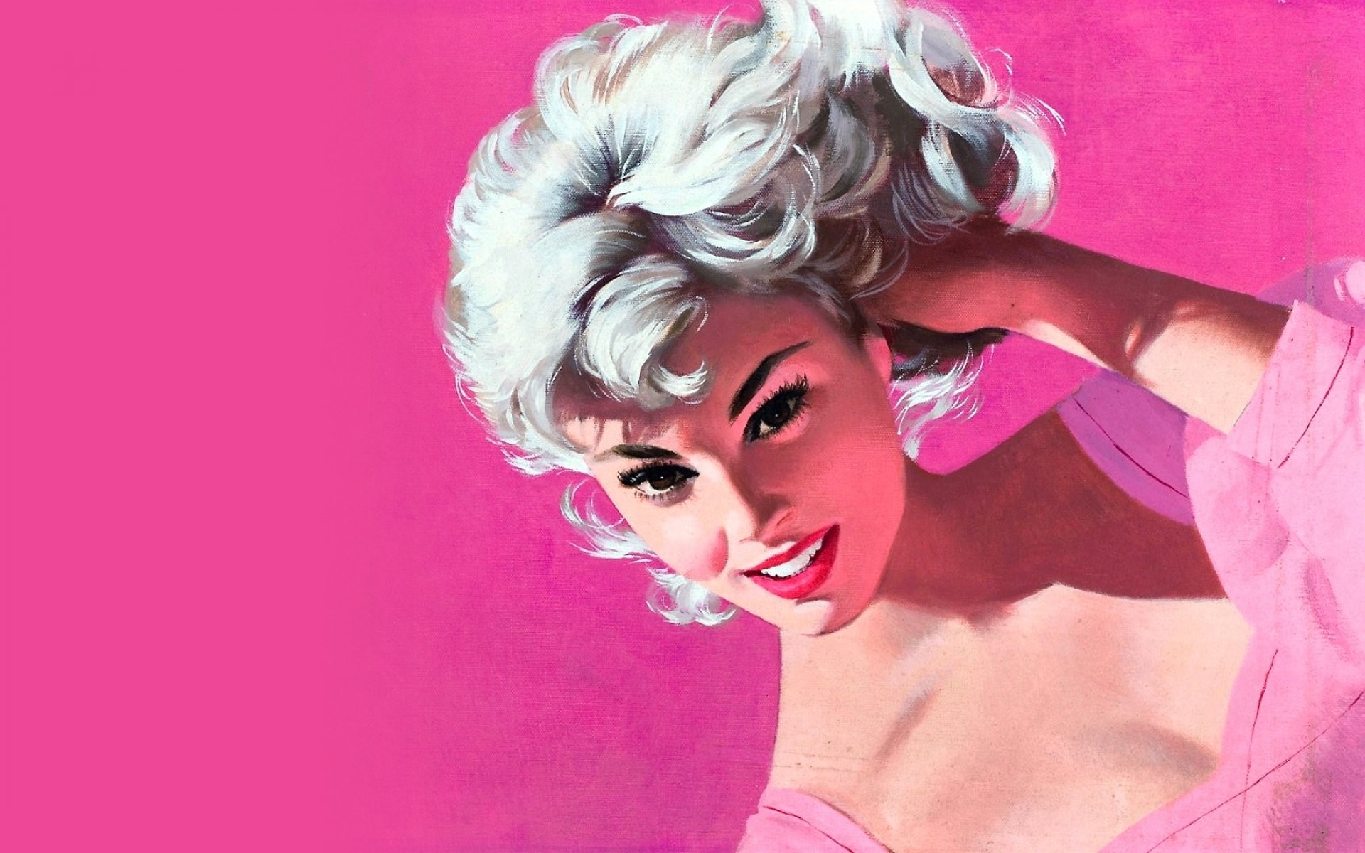 1920x1200 Photo Collection Pin Up Pink Face
