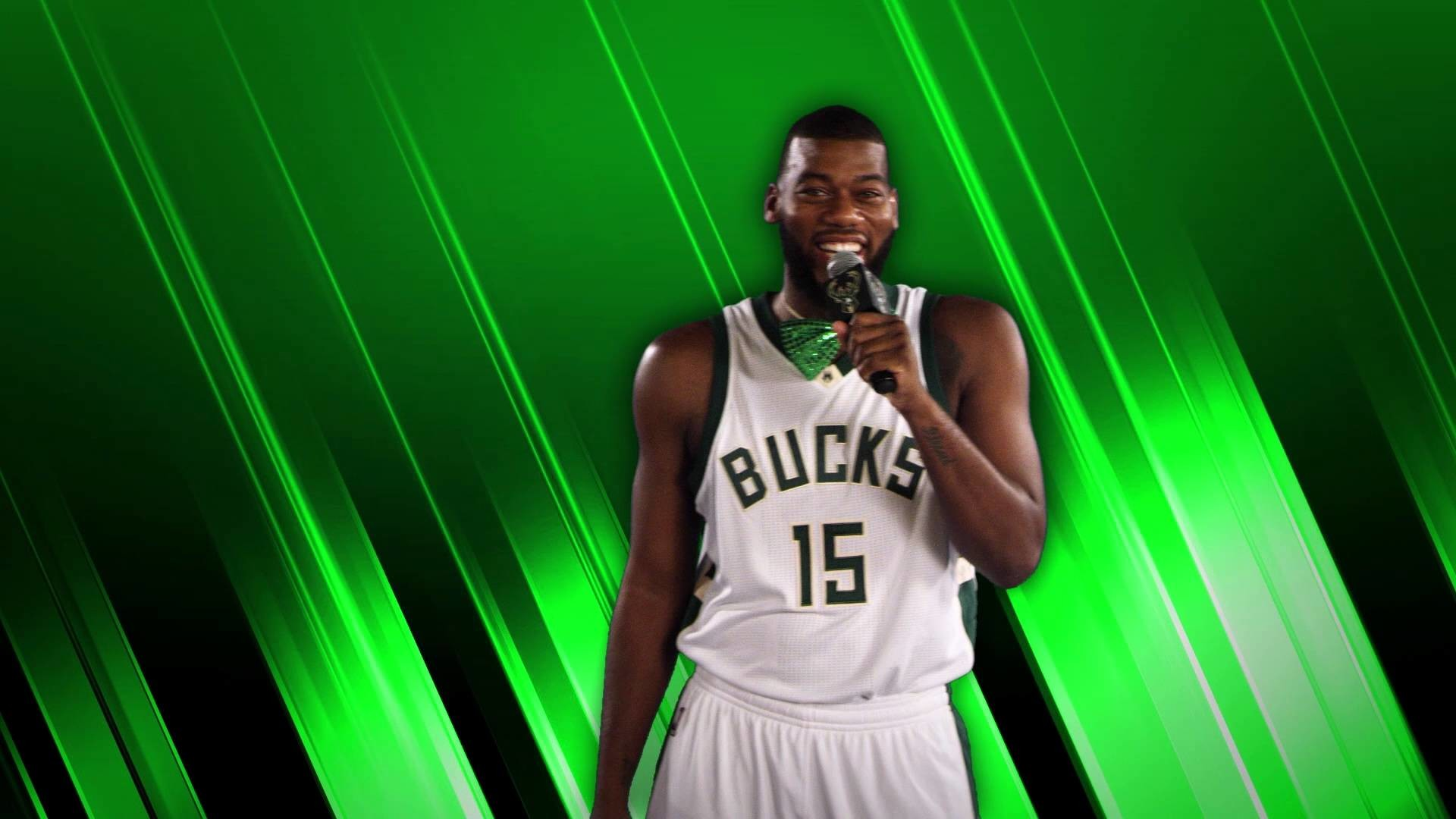 1920x1080 Lip Sync Battle: Greg Monroe. Milwaukee Bucks